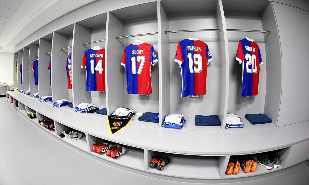 Basel dressing room