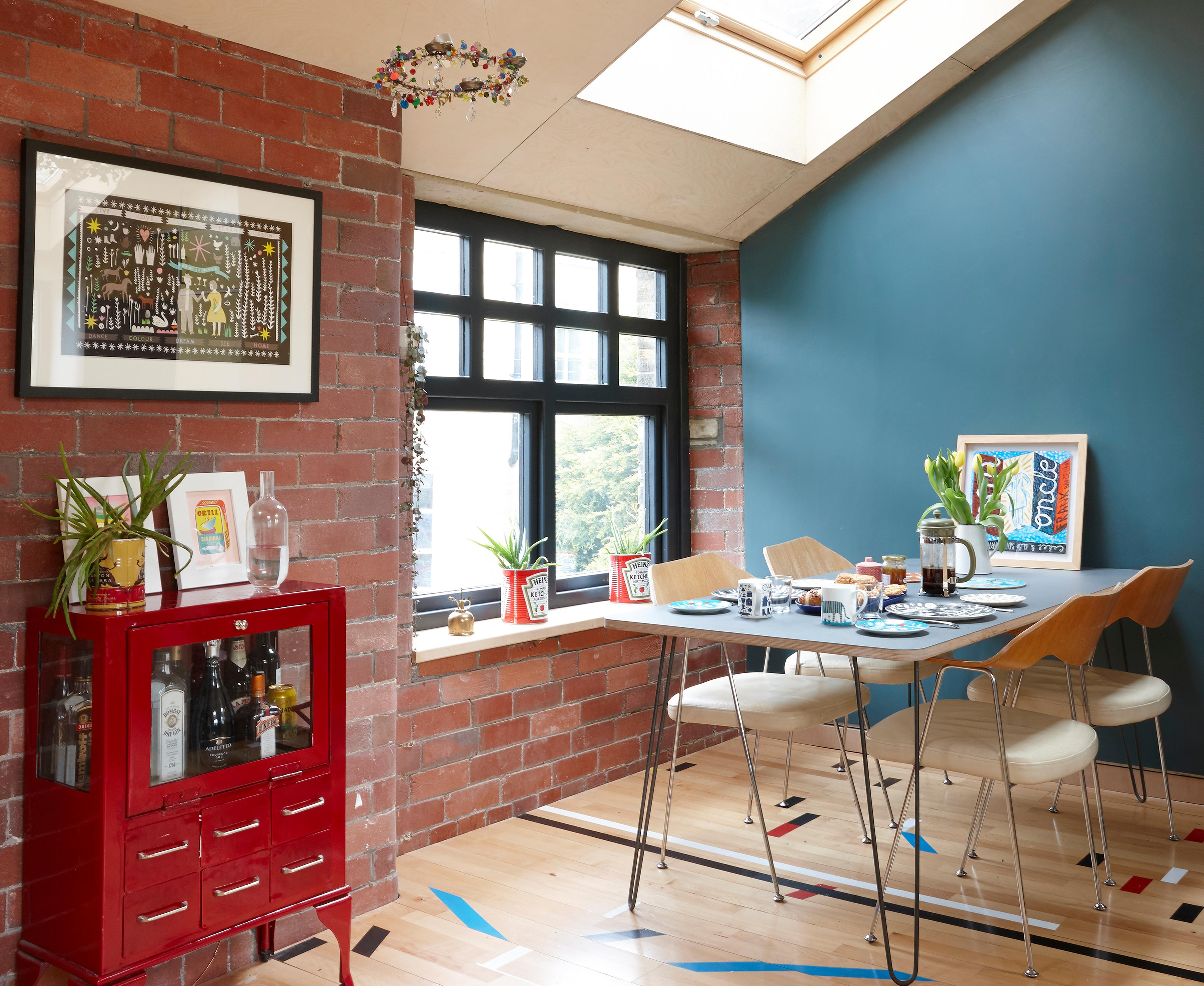 Switcheroo: the former mill that's now an upside-down family home