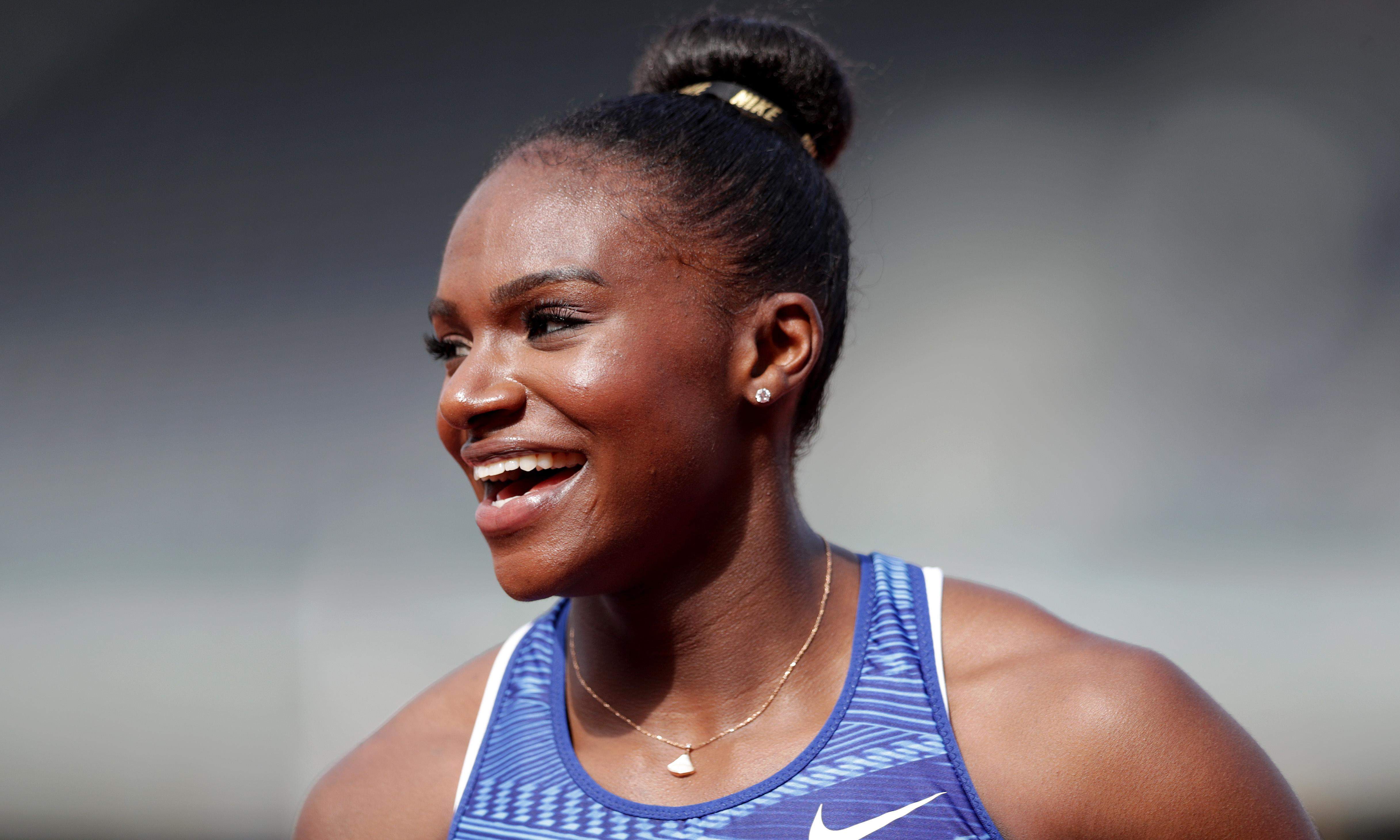 Dina Asher-Smith eager to keep streak going with 100m record at UK trials