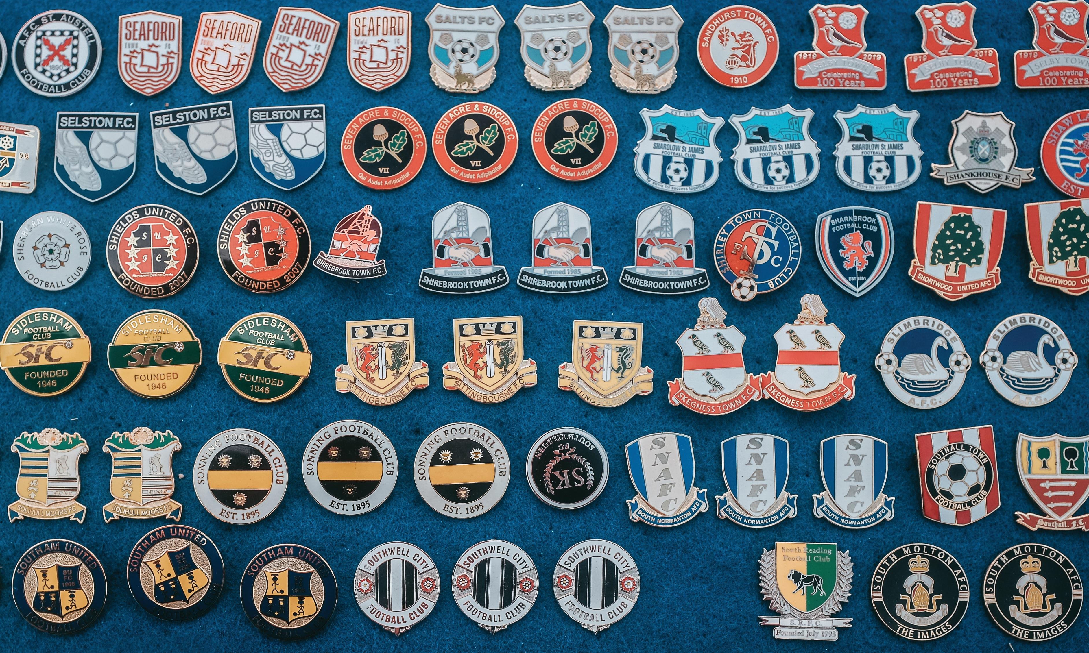 The fanatical world of football pin badges