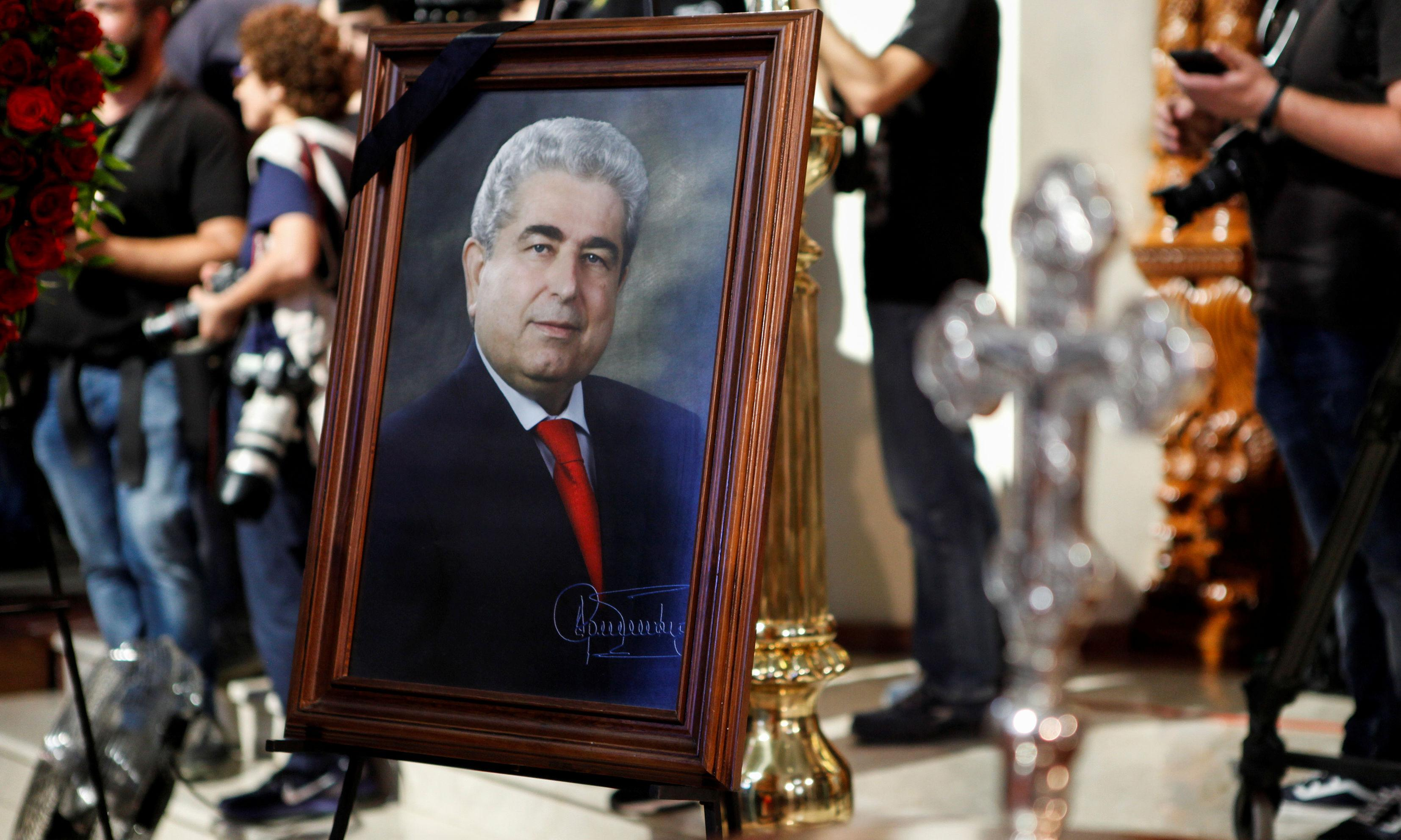 Thousands attend Cyprus communist ex-president's funeral