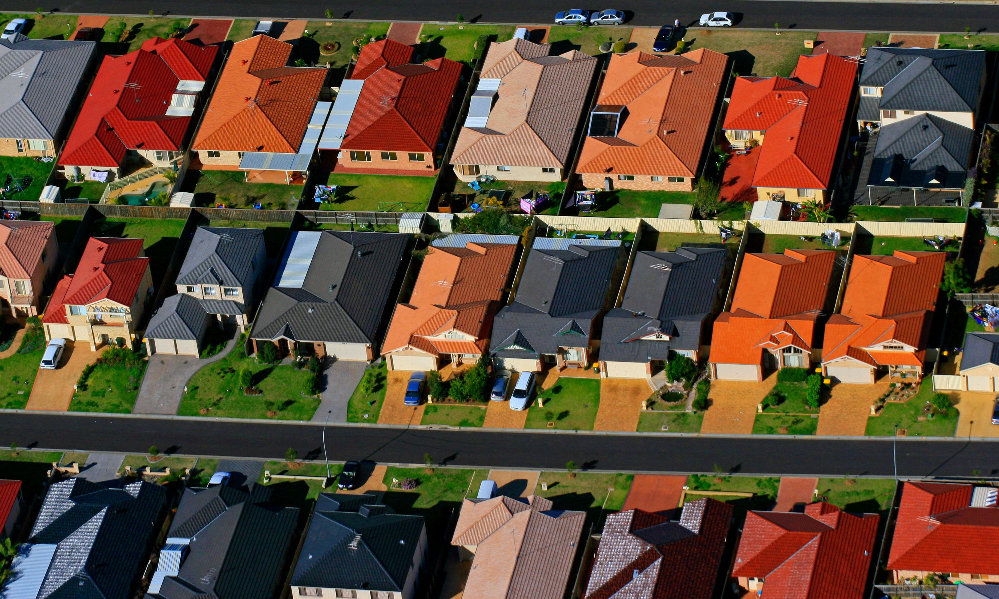 Sydney house prices have biggest monthly fall for 14 years and Melbourne close behind