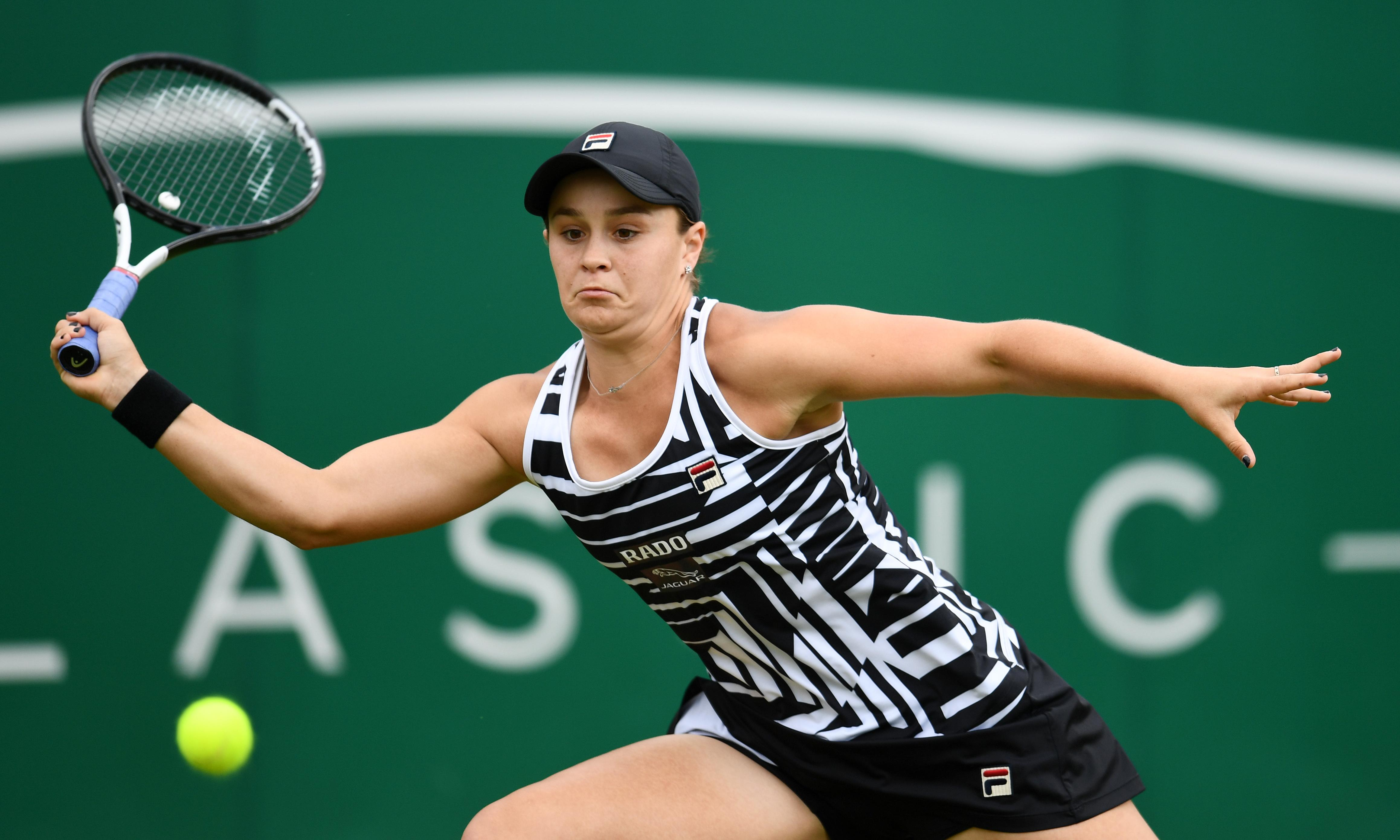Ashleigh Barty sorry she had to reject Andy Murray's Wimbledon offer