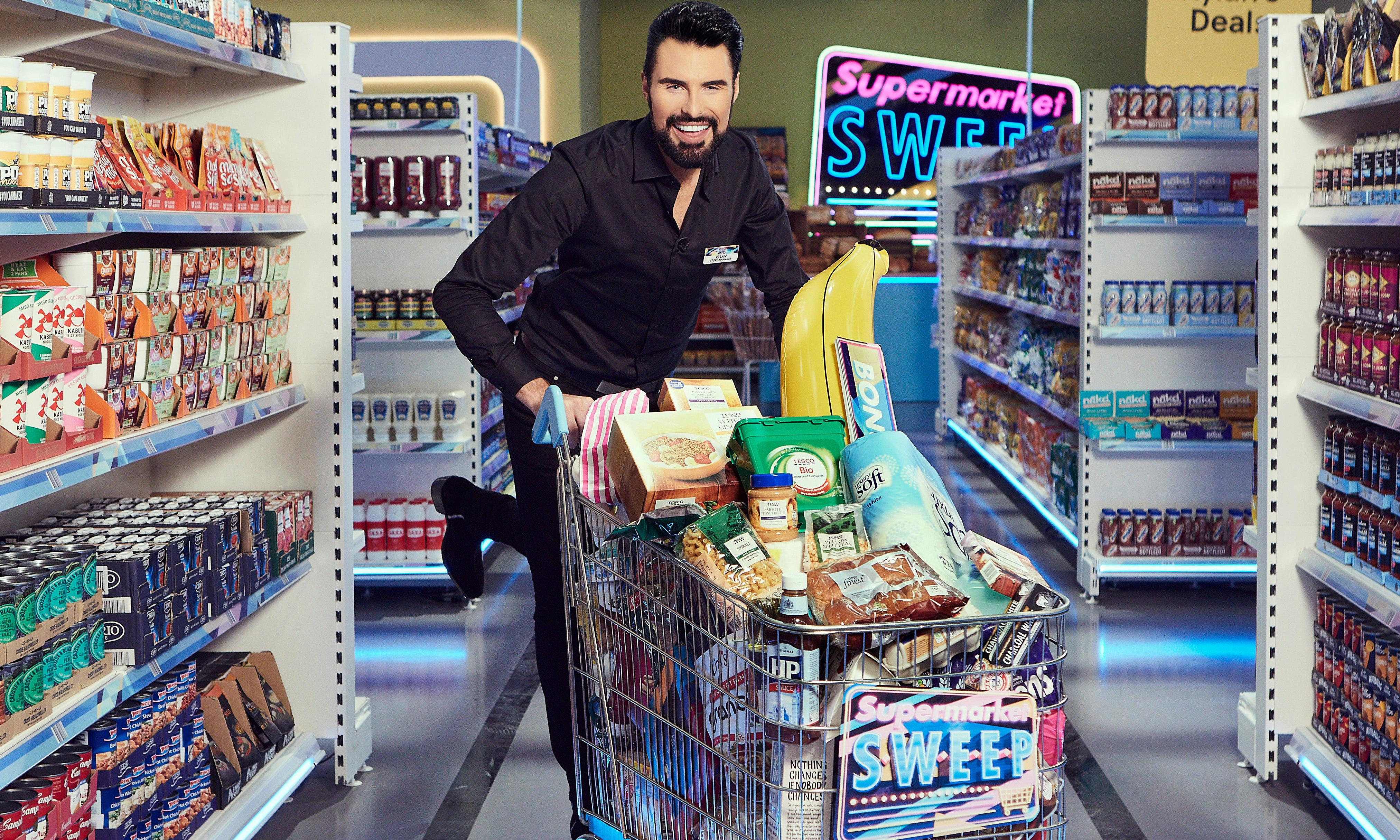 Supermarket Sweep review – as stiff as a frozen potato waffle
