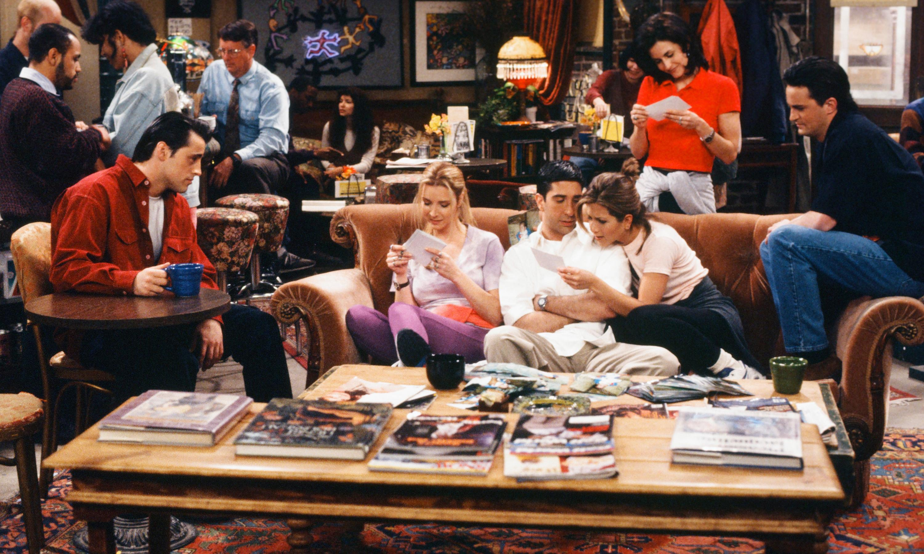 The one where Central Perk came to London and made new Friends