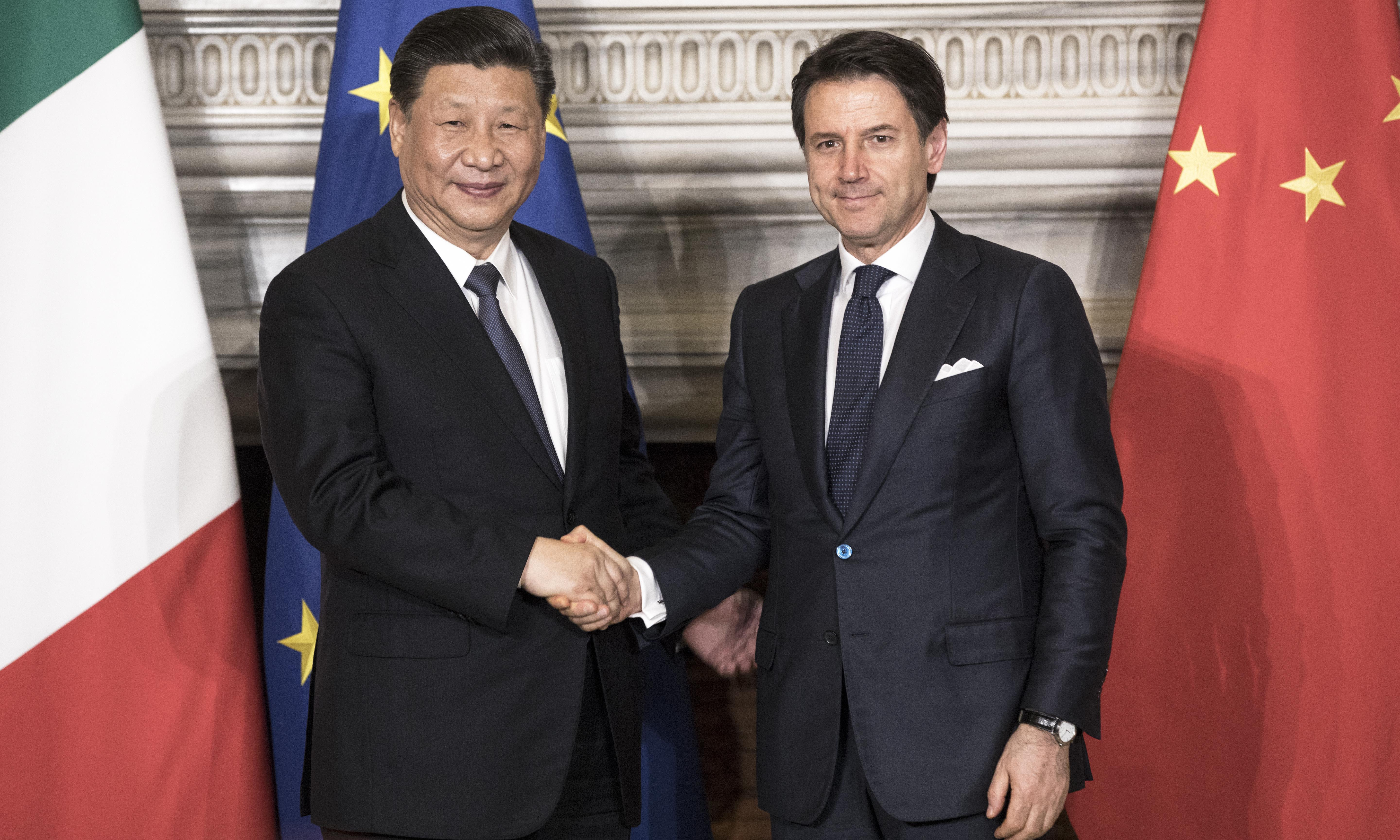 Italy and China in plan for new Silk Road-style trade network