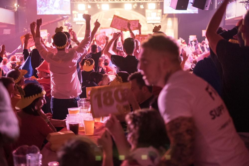 a grand slam night of darts a picture essay sport the guardian the venue is run by wolverhampton city council and is a grade ii listed building that started life as a music hall in the 1930s
