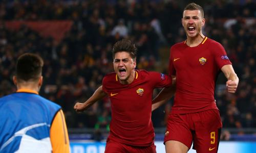 Image result for Shakhtar Donetsk 0-1 AS Roma of UCL