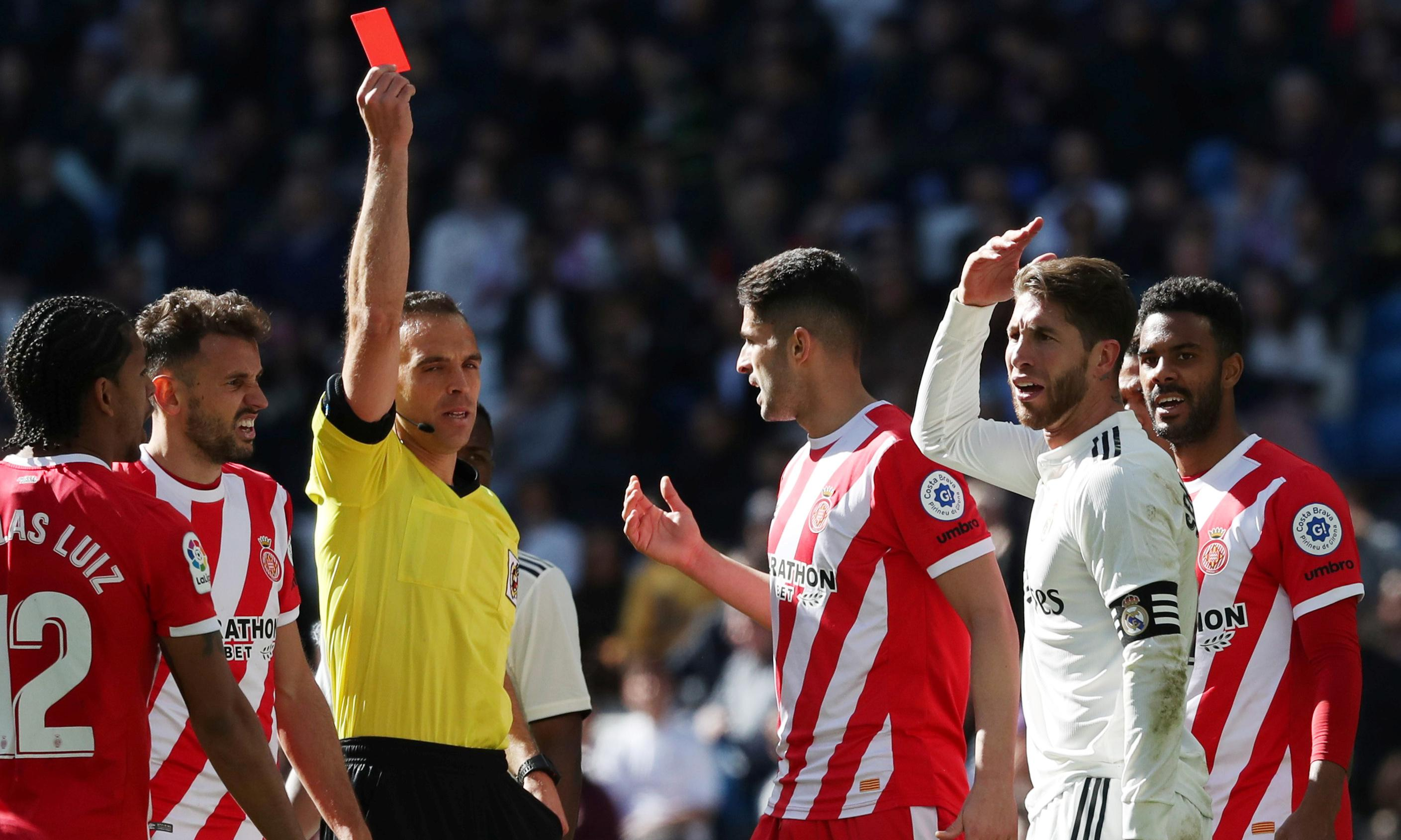 Sergio Ramos and his 25 Real Madrid red cards: a retrospective