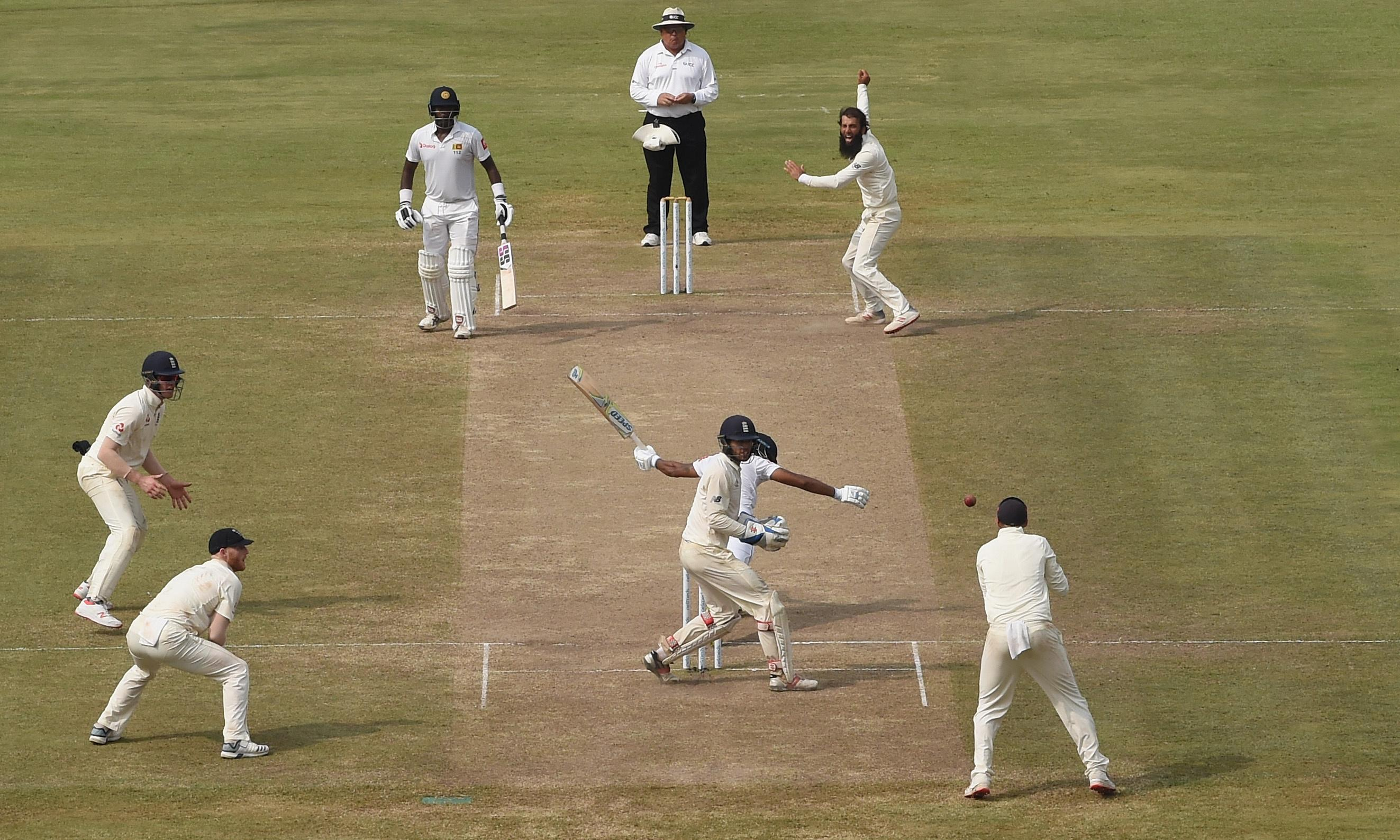 England spin their way to within three wickets of series win in Sri Lanka