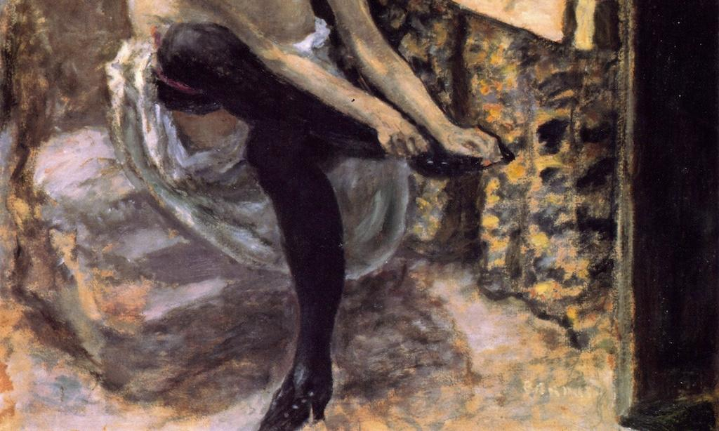 Pierre Bonnard and the mystery of the nudes in Theresa May kitten heels