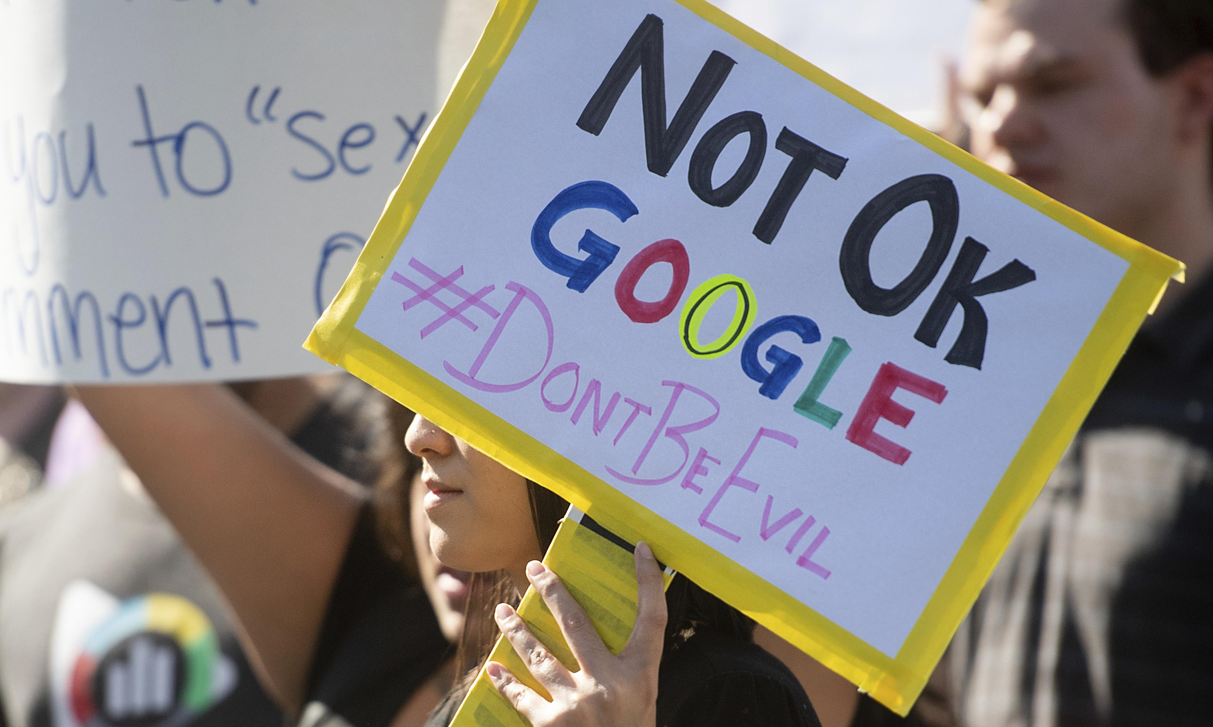 Google worker activists accuse company of retaliation at 'town hall'