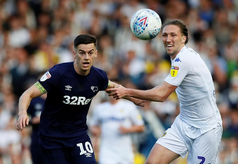 Lawrence and Ayling battle.