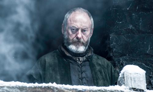 Game of Thrones Season 6><br>Liam Cunningham as Davos Seaworth– photo Helen Sloan/HBO Game of Thrones Season 6