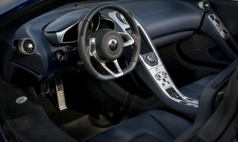 Inside story: the plush interior of the McLaren 650S