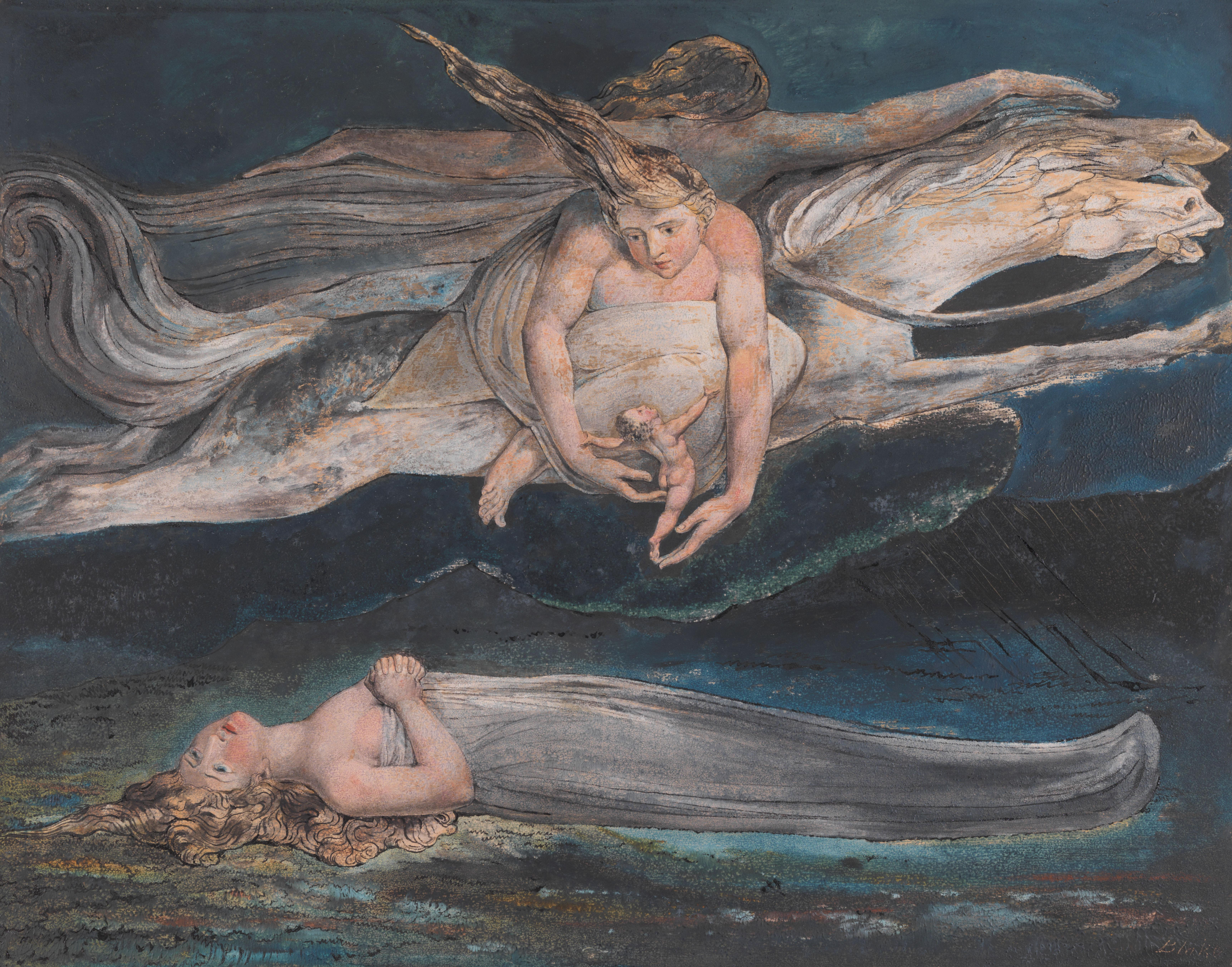 William Blake review – blazing heresies from the artist who blows Constable and Turner away