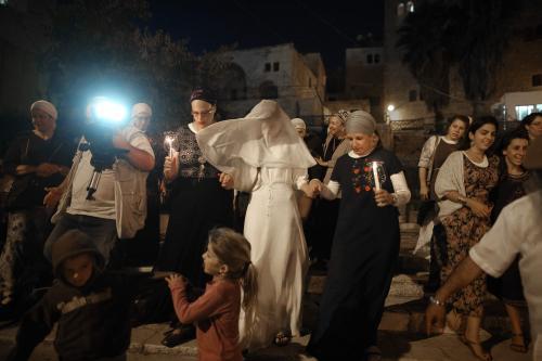 Israeli settler bride Yael Levi