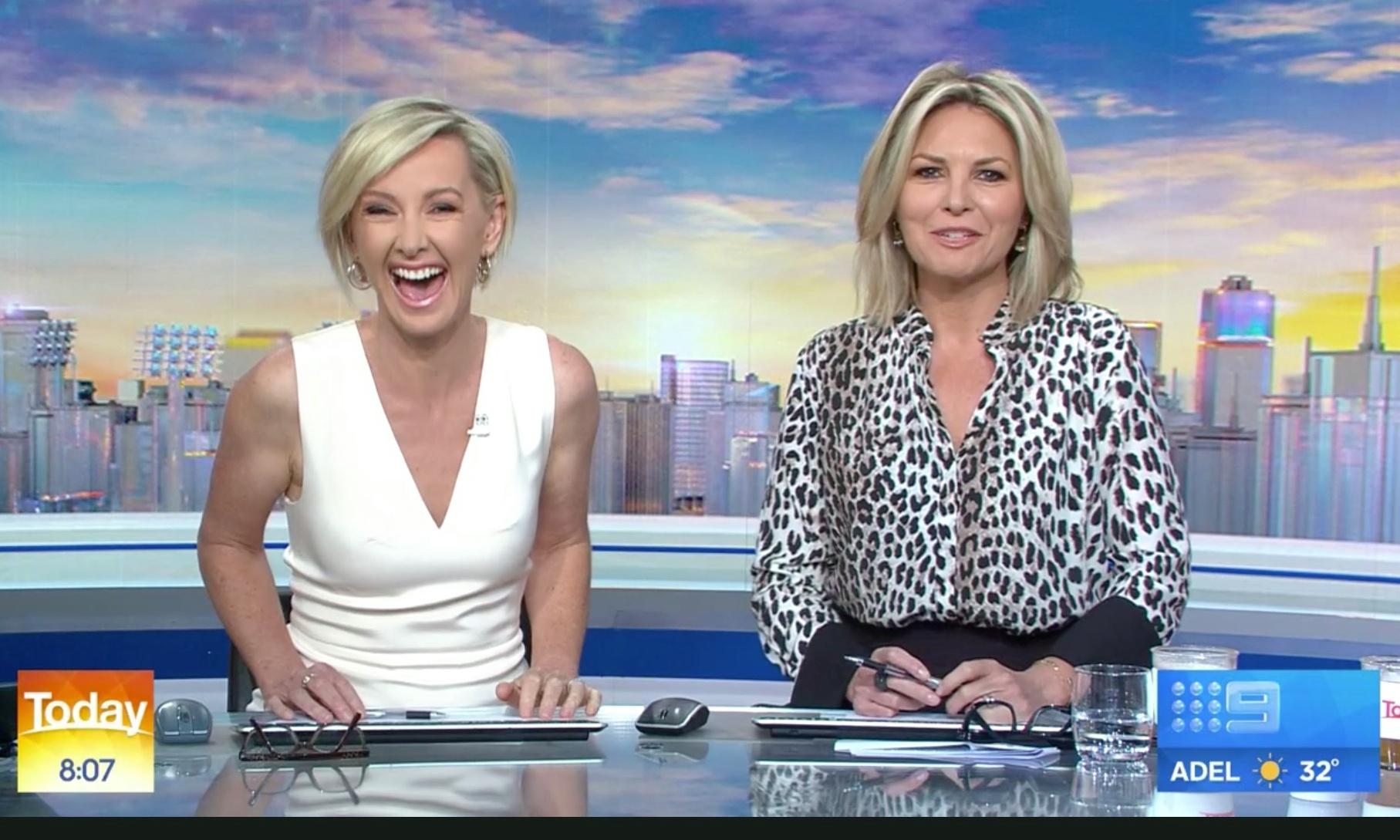 Here Today, gone tomorrow? Tabloid knives are out for Nine's Georgie Gardner