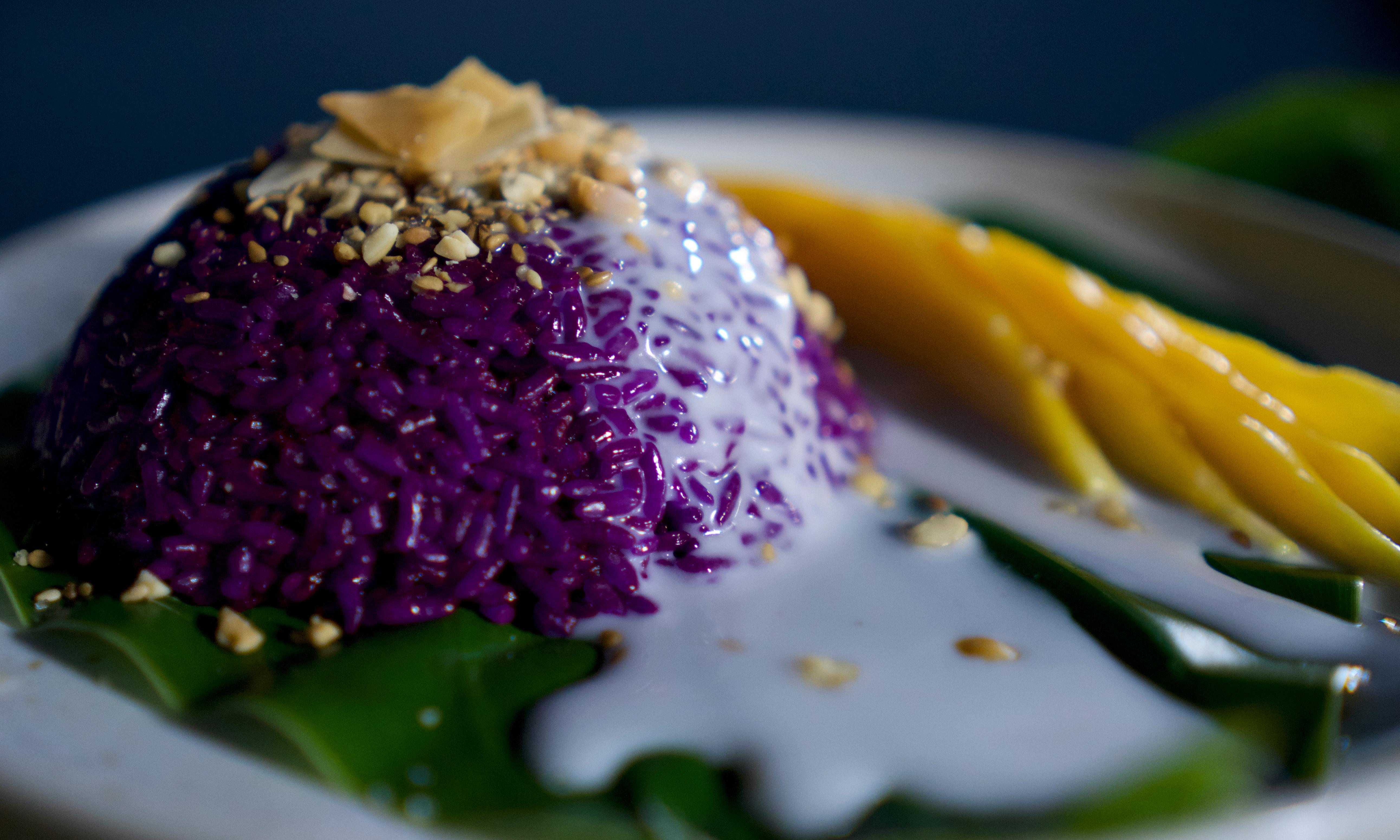 Magenta sticky rice and pillowed noodles: a three-course dinner from Luke Nguyen