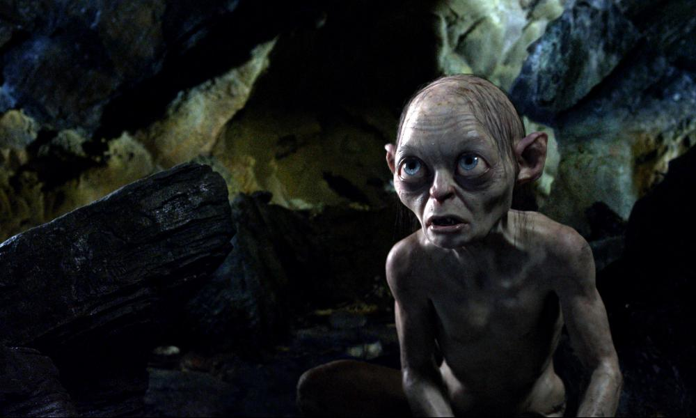 Gollum in The Lord of the Rings, Serkis's breakthrough role.
