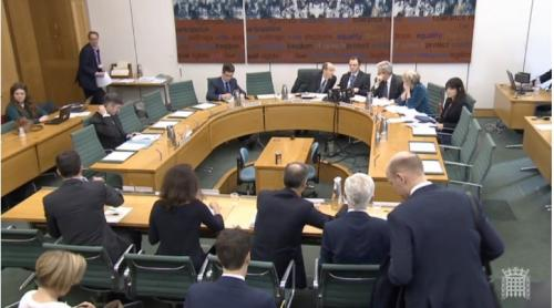 BoE at treasury committee