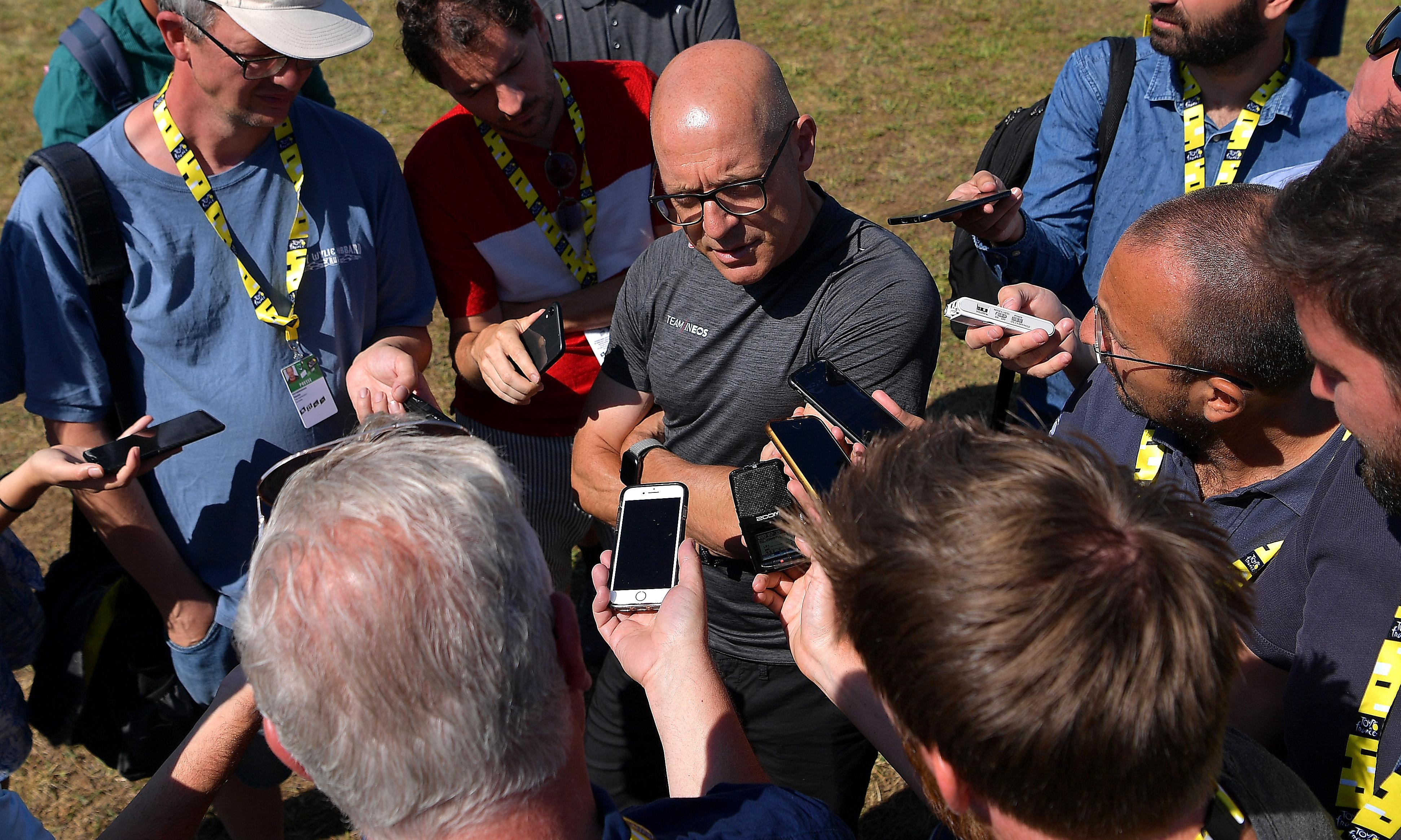 Dave Brailsford keen to 'twist knife' into Team Ineos's Tour rivals