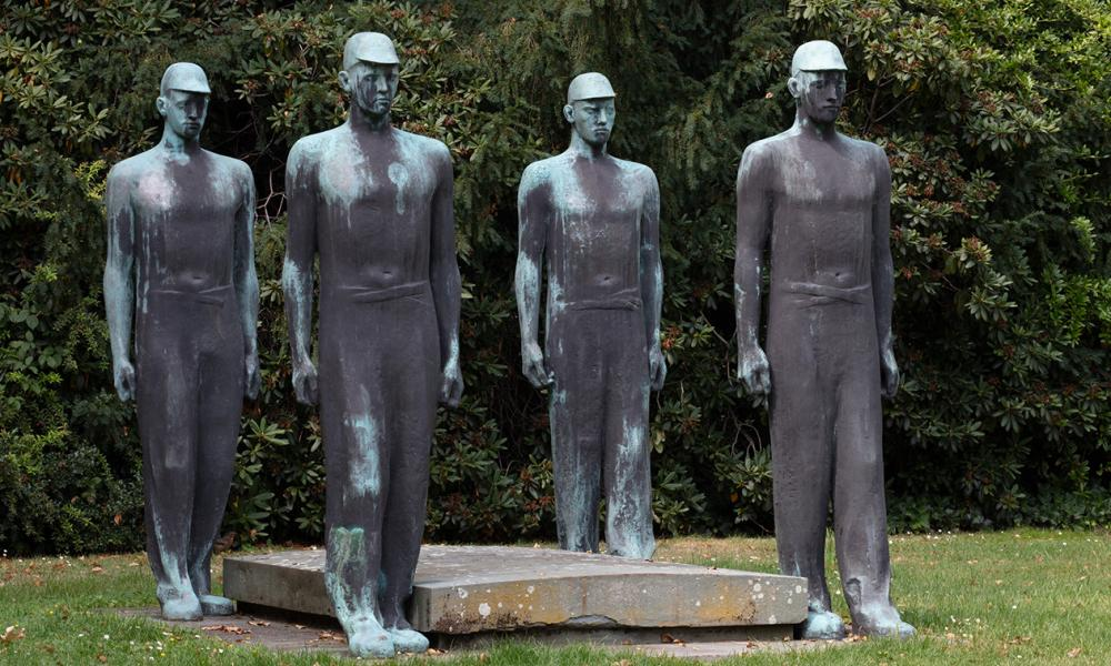 An Adolf Wamper sculpture from 1953.