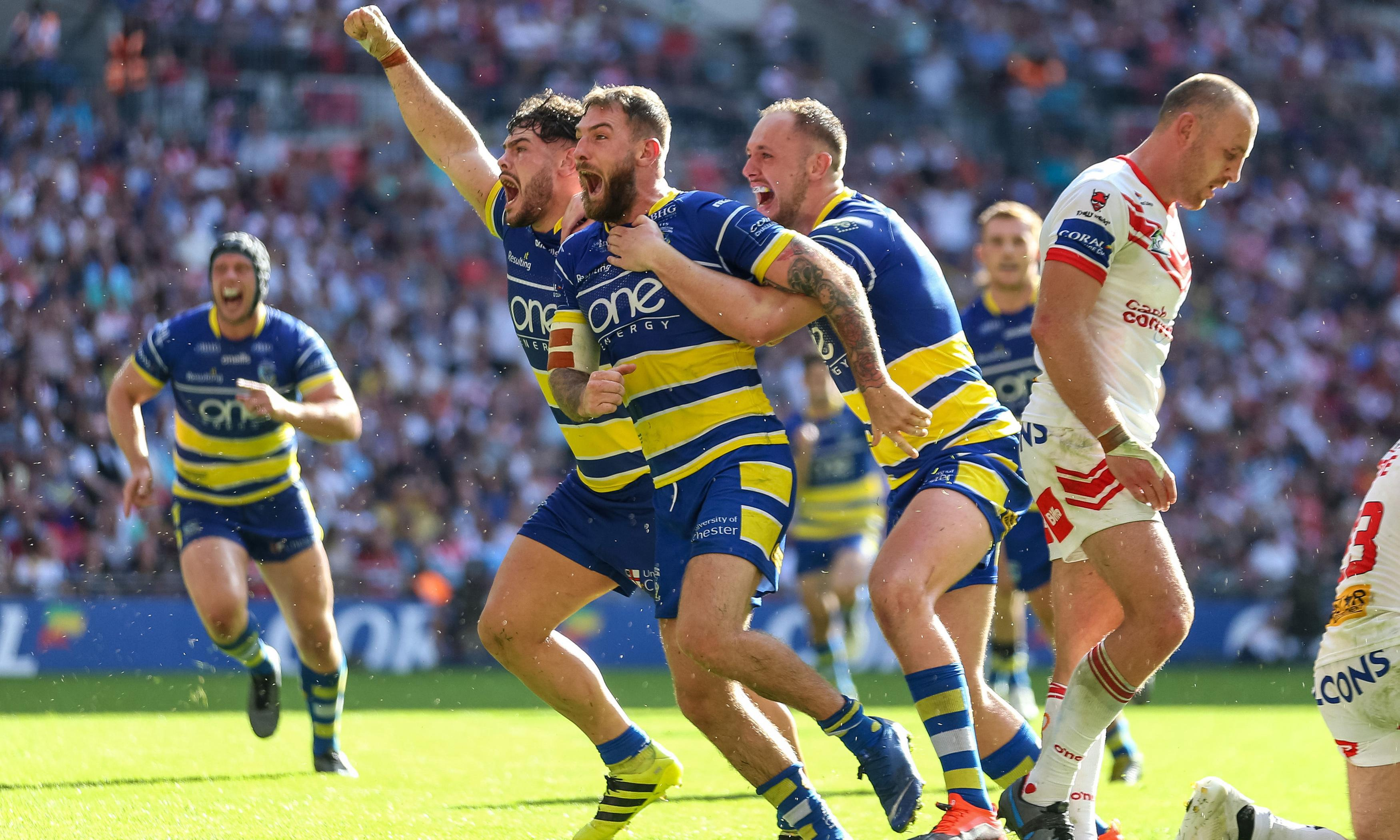 Warrington feast on St Helens errors to seal shock Challenge Cup triumph