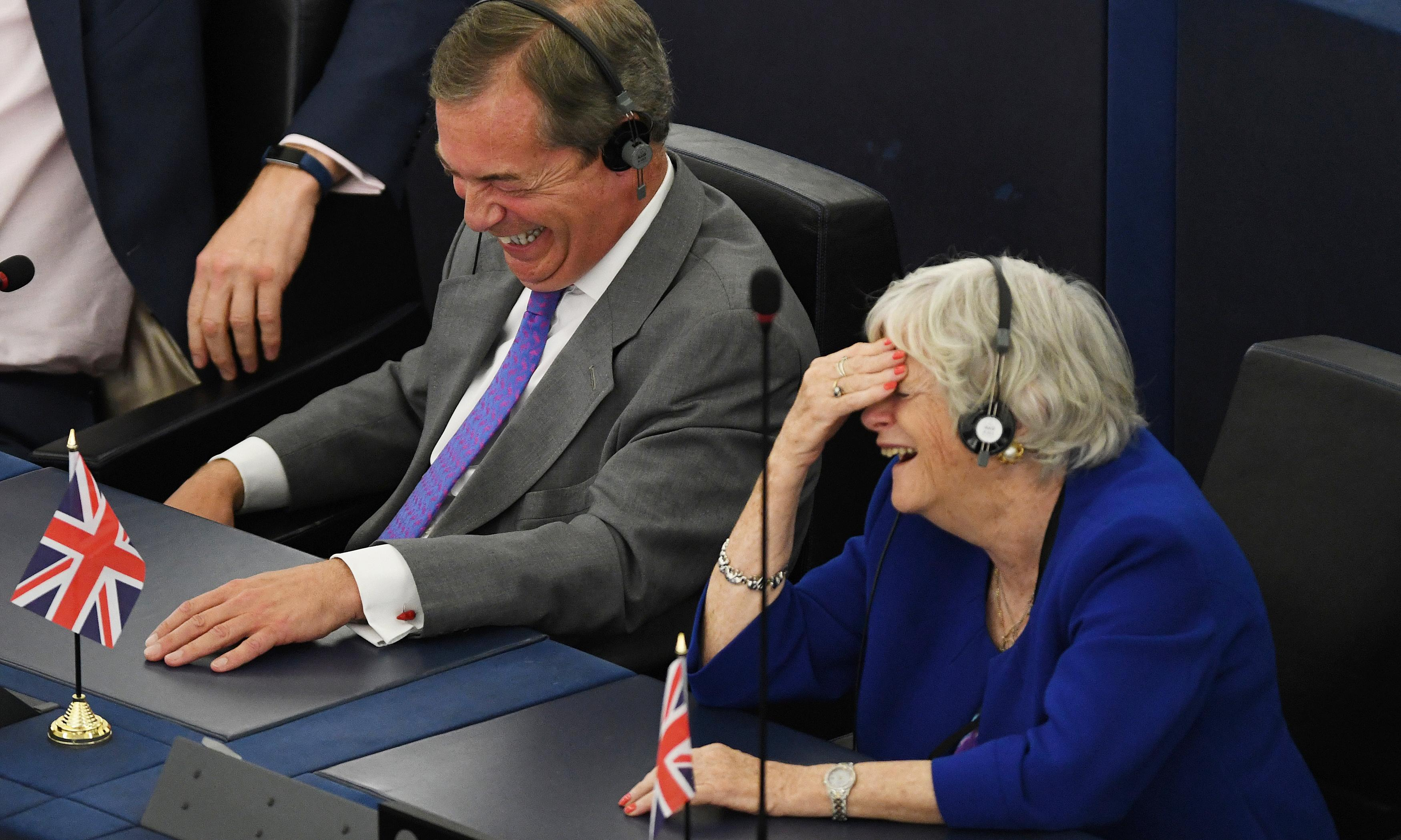 In turning their backs, Brexit MEPs behaved like attention-seeking toddlers