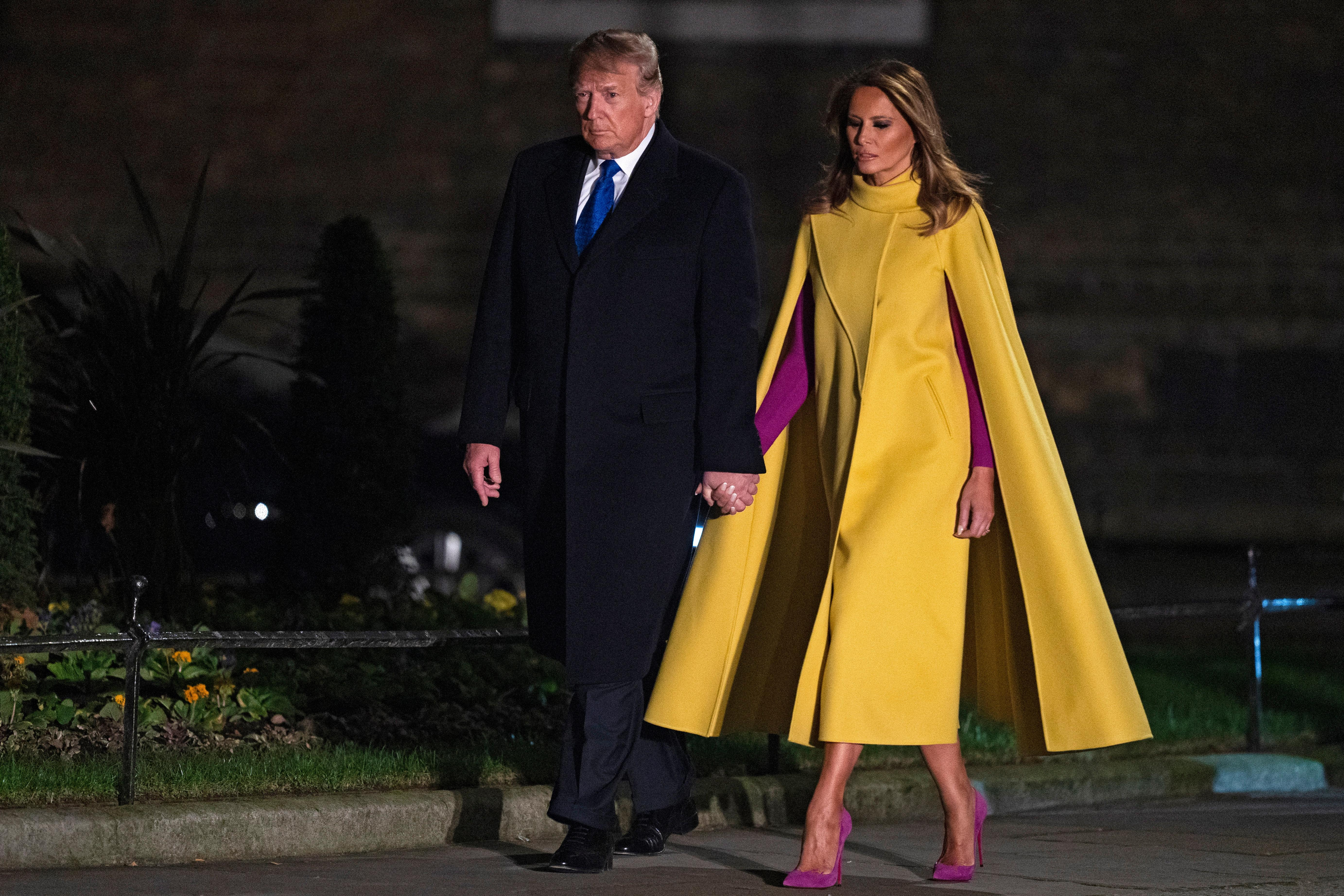 Melania Trump is no caped crusader for women's rights. She's still Donald's fig leaf