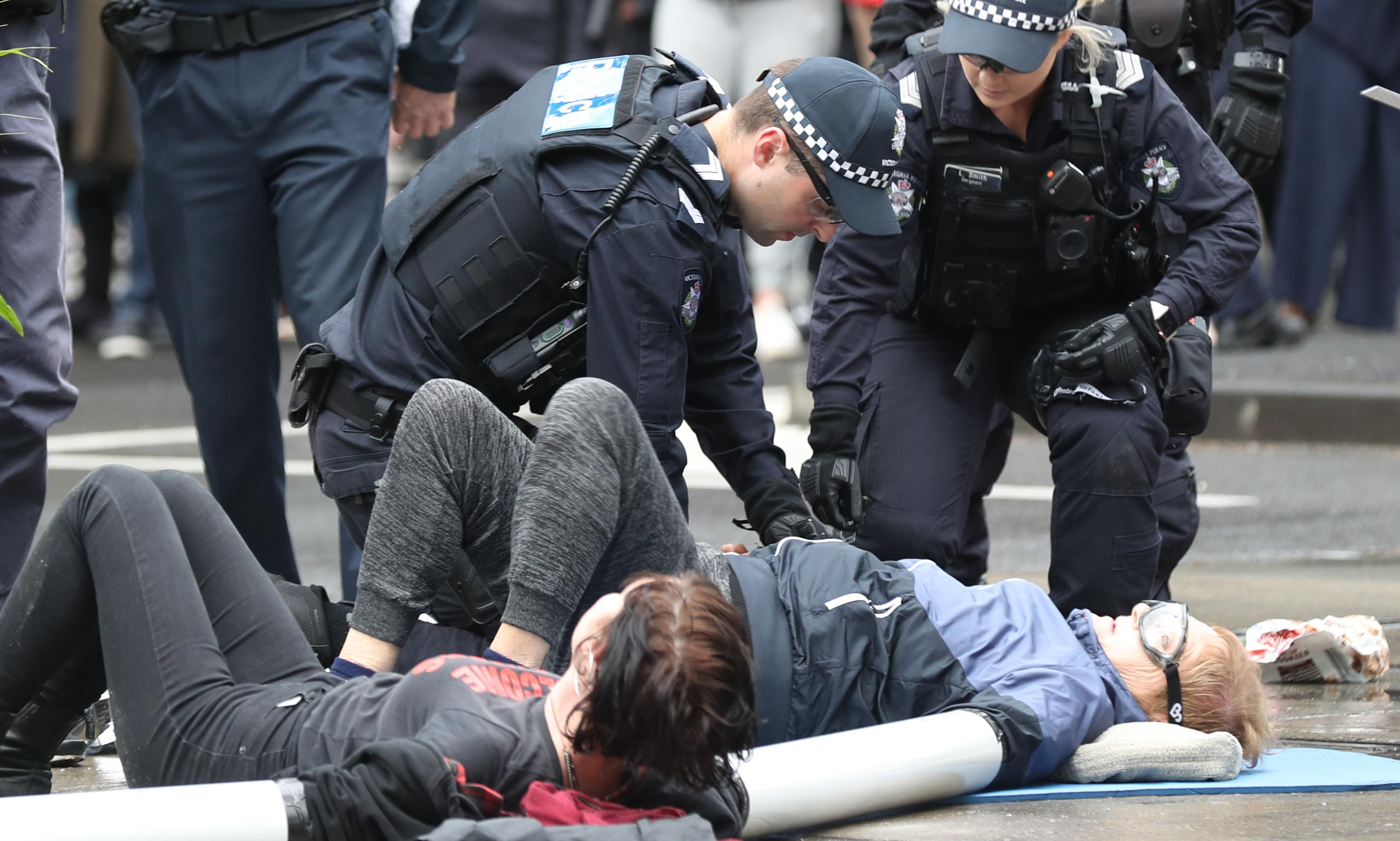Extinction Rebellion protesters in Melbourne have bail conditions revoked