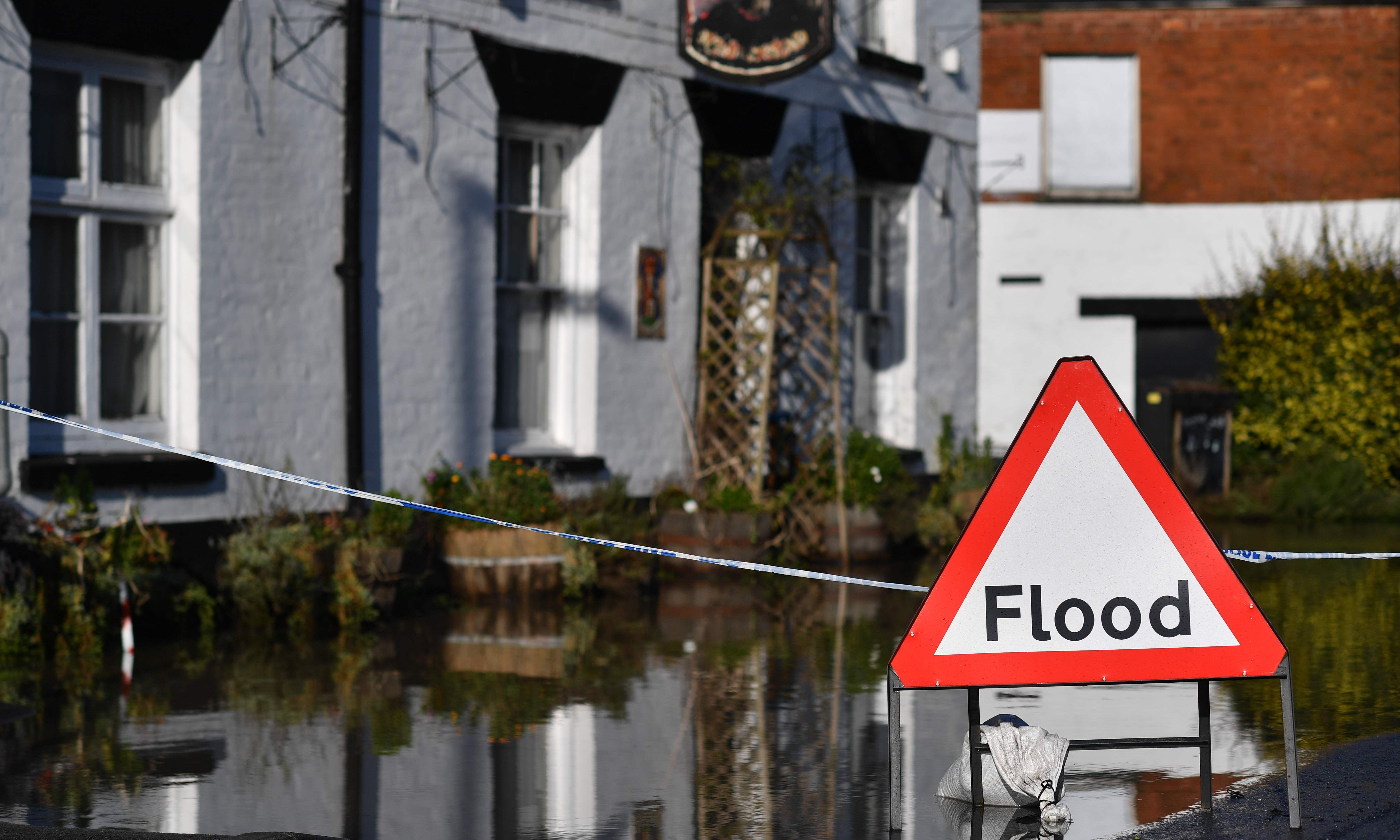 Flood risk from swollen rivers across England as more rain expected