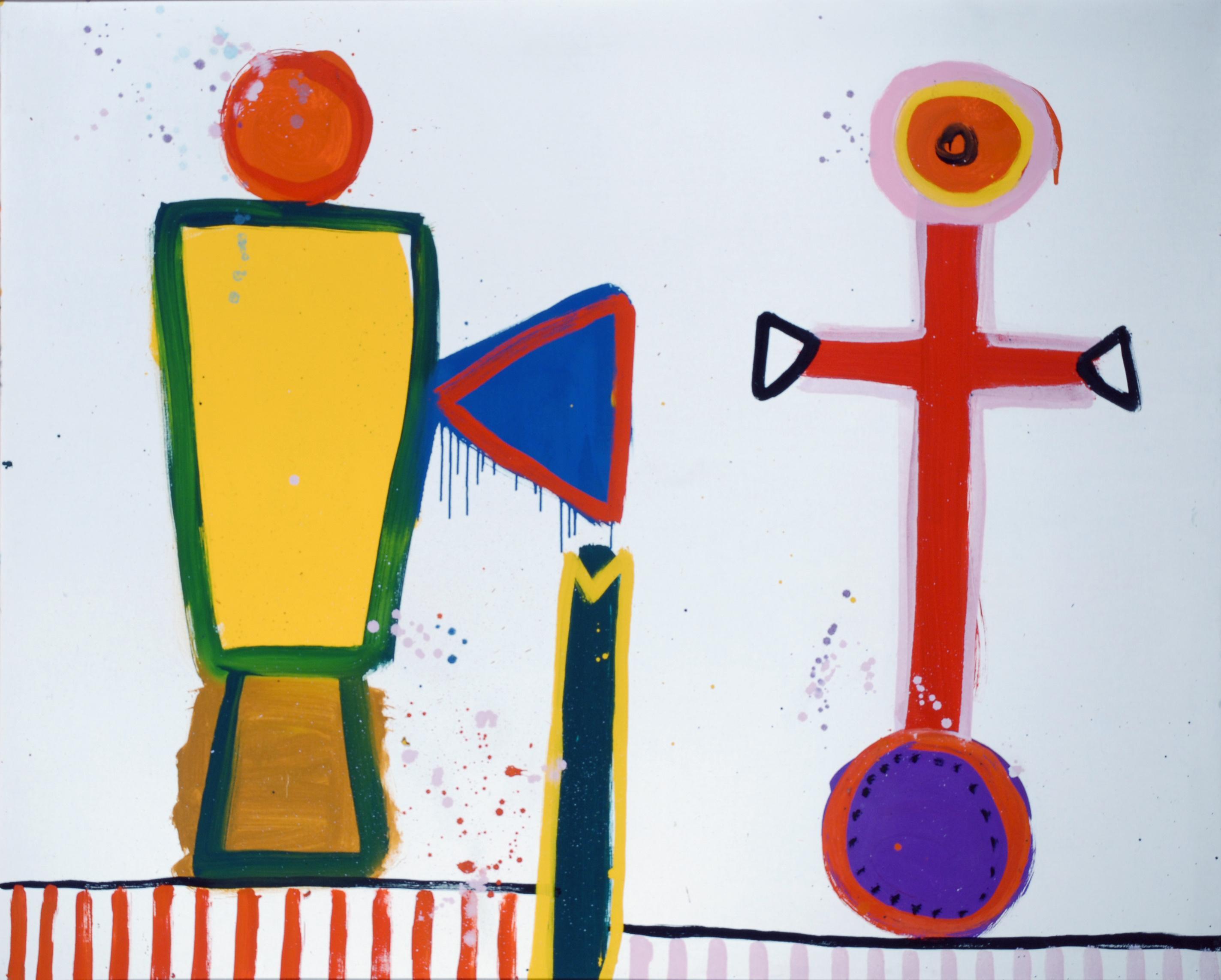 Copulation at its fruitiest – David Hockney, Alan Davie, Christina Quarles review