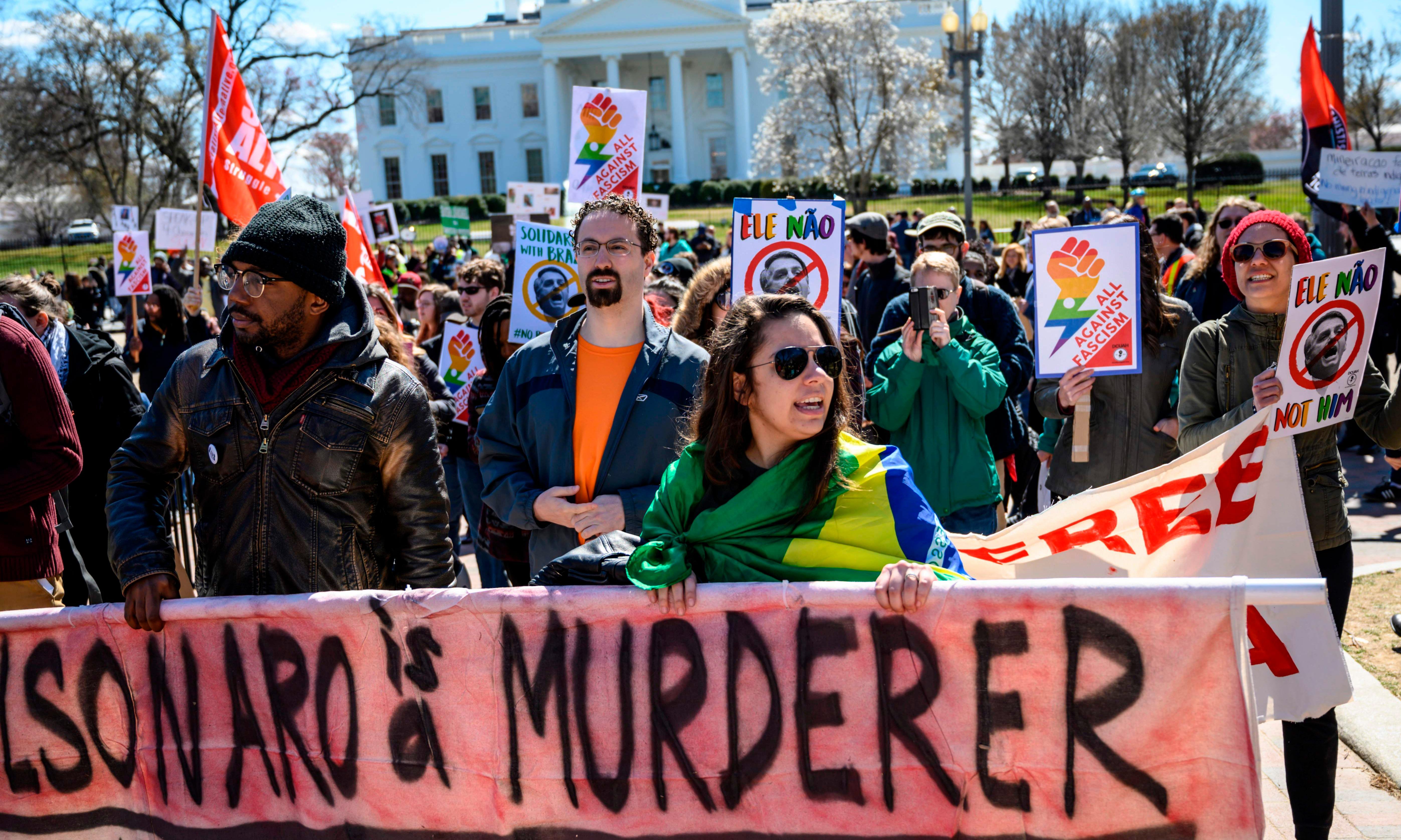 'Same rhetoric': Bolsonaro's US visit to showcase populist alliance with Trump