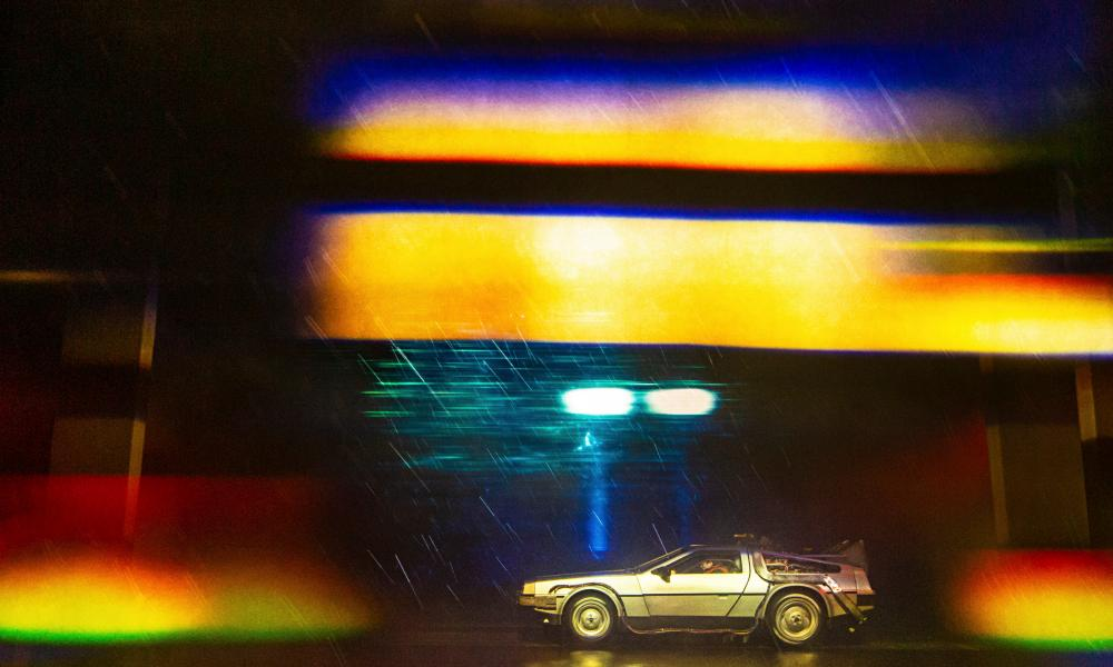 A mishmash of originality and imitation … Back to the Future: The Musical.