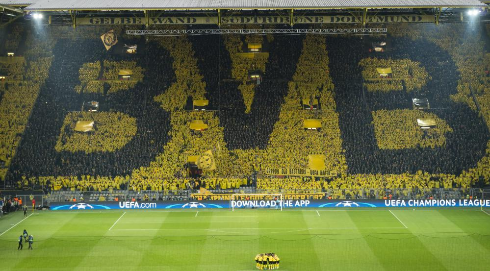 The ever spectacular Westfalenstadion.