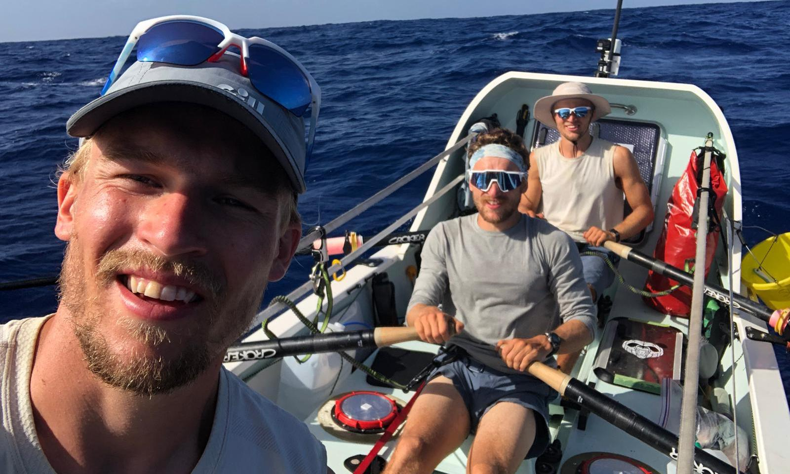 'Being brothers was a big help': Atlantic rowers tell of record-breaking trip