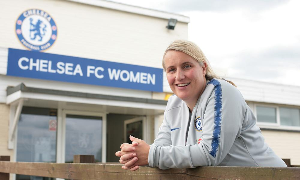 Emma Hayes: 'I'm prepared to change things. I'm not stubborn about tactics. Formations are just numbers'