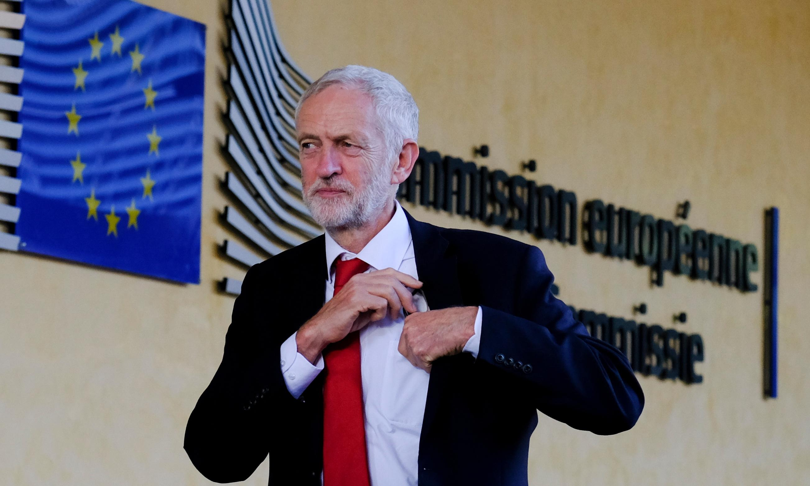 Corbyn to hold Brexit talks with Barnier and Verhofstadt