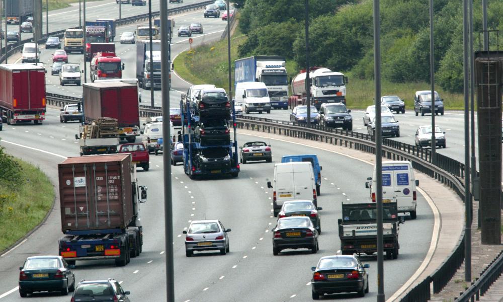 Manchester's orbital motorway.