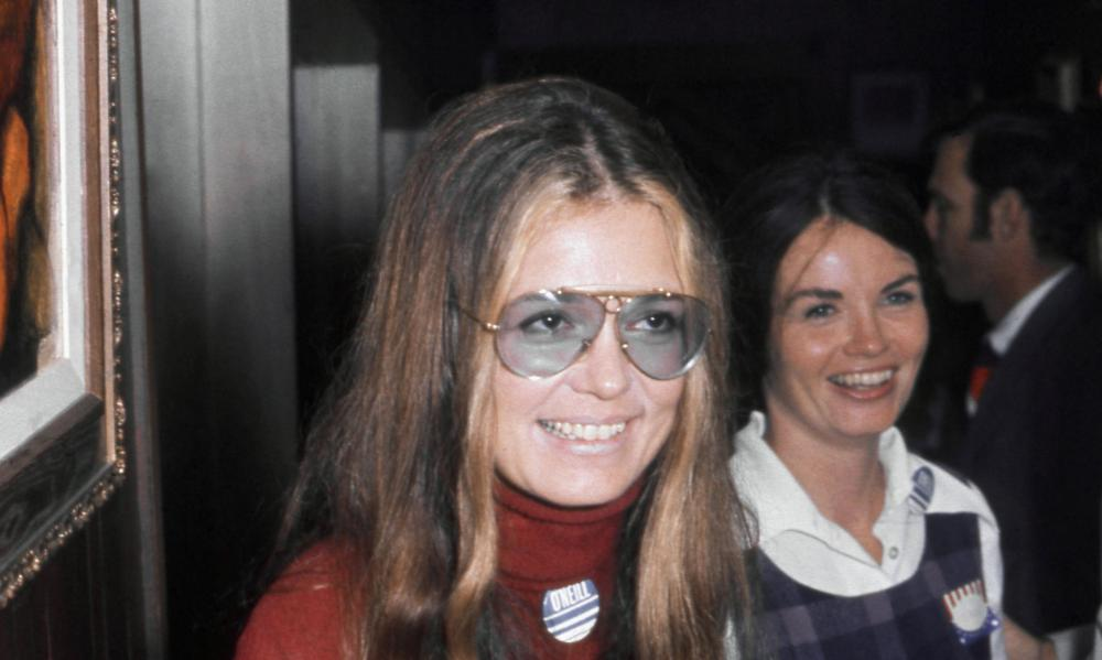 Gloria Steinem … a barrier between her and the world?