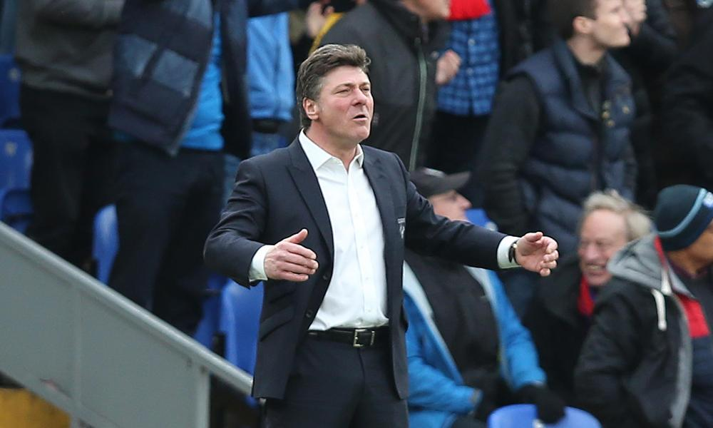 Walter Mazzarri, doing his Three Tenors' impersonation, needs a crescendo to Watford's season.
