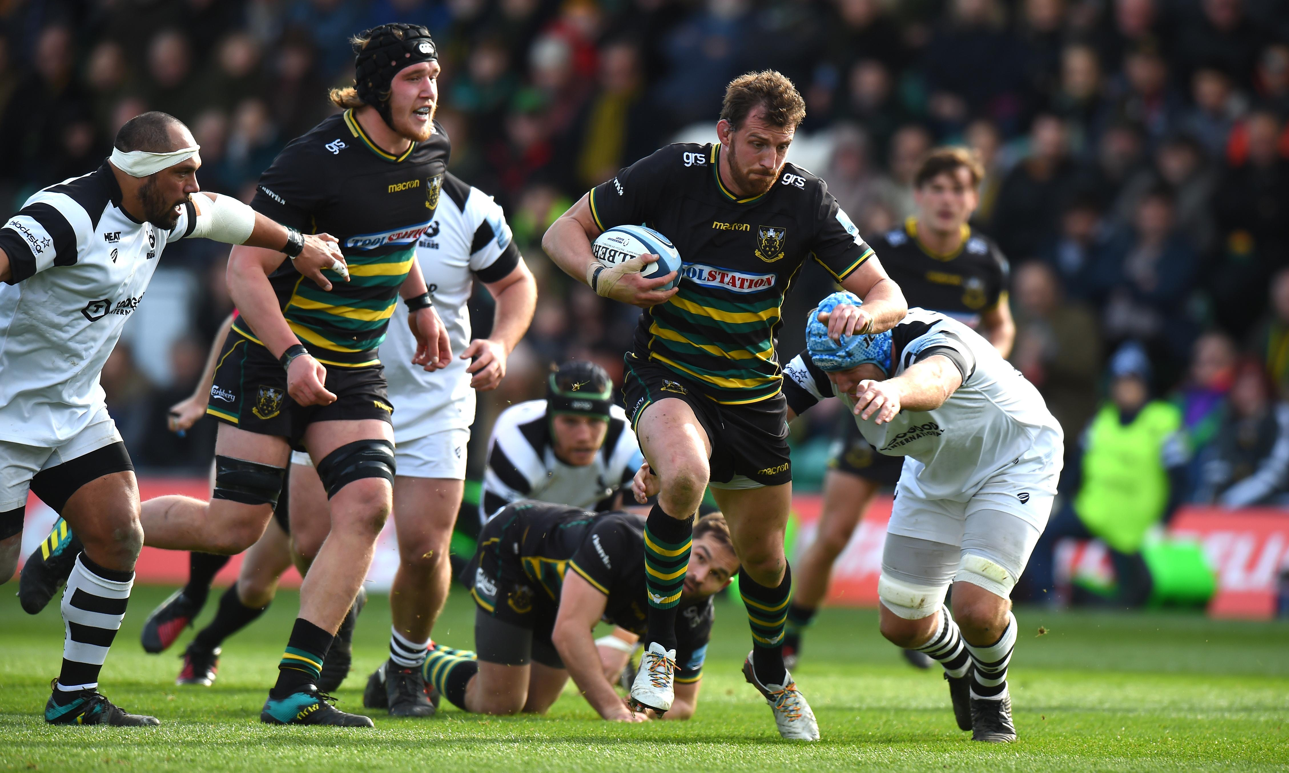 Northampton have 'puncher's chance' of upset against Exeter, says Tom Wood