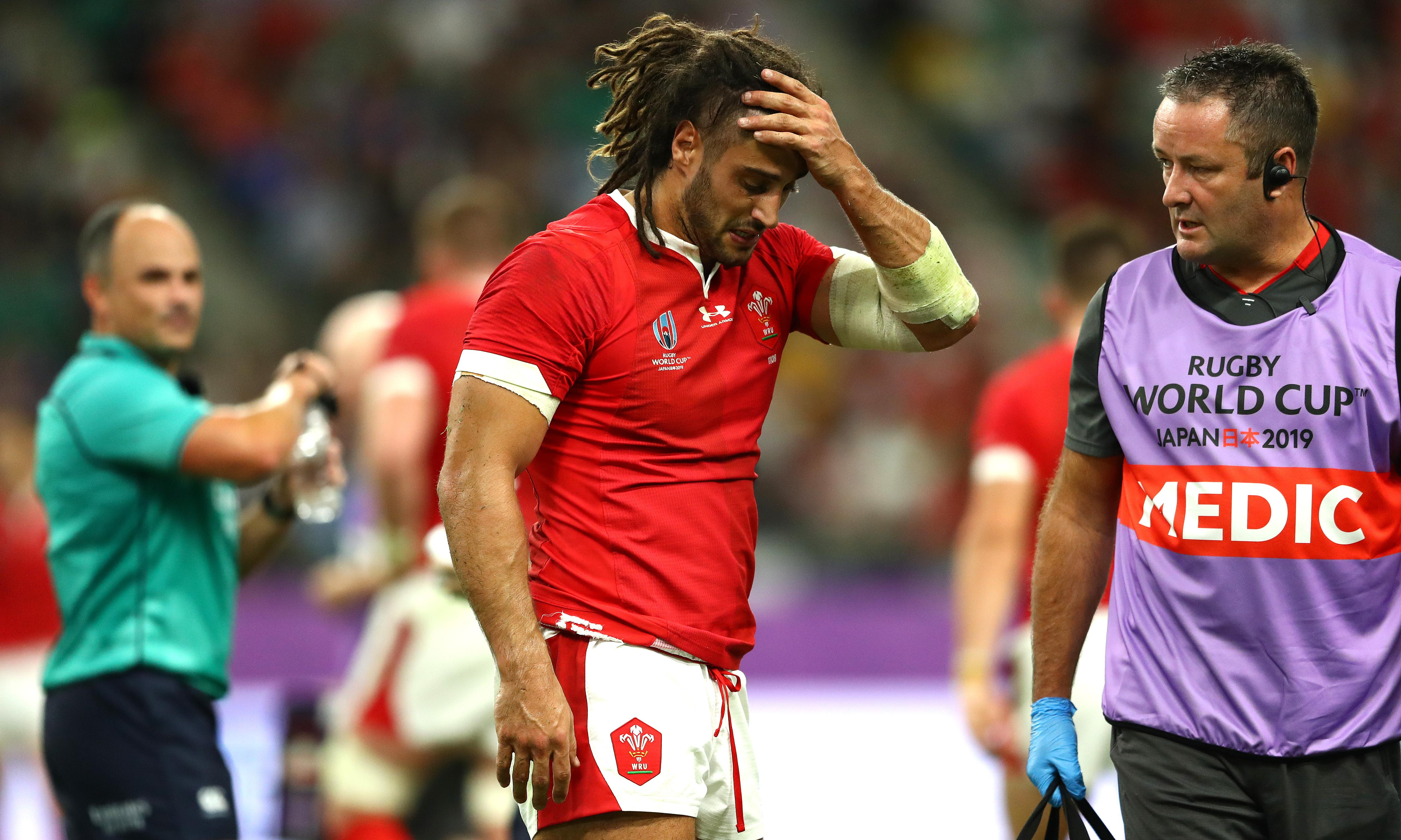 Wales back-rower Josh Navidi's Rugby World Cup ended by hamstring injury