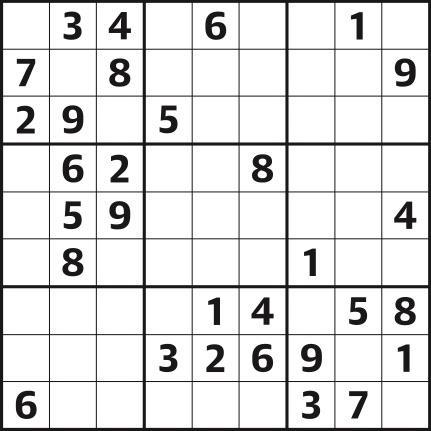 Sudoku 4,516 easy