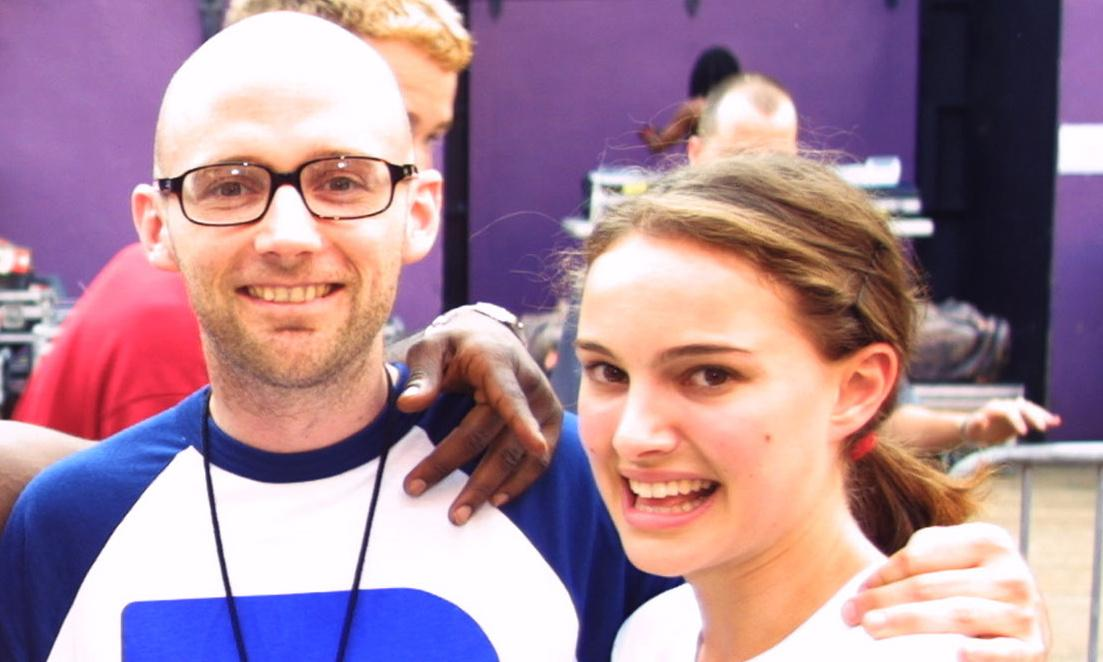 Being a woke vegan doesn't excuse Moby his Natalie Portman jibes