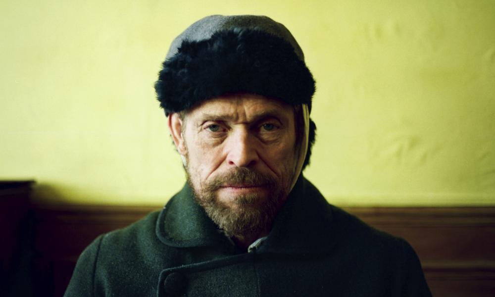 Willem Dafoe as Vincent van Gogh in At Eternity's Gate.