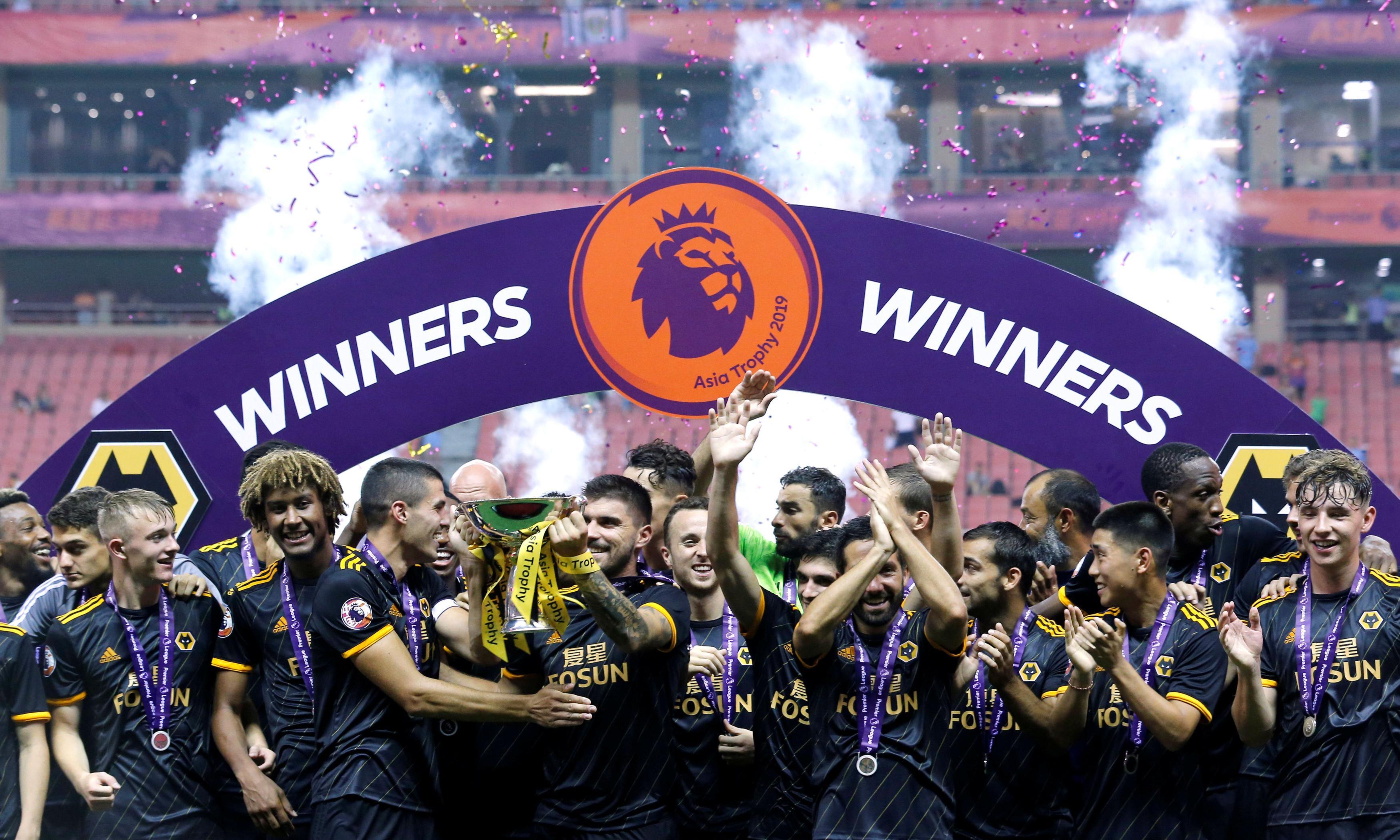 Wolves edge Manchester City in Premier League Asia Trophy shootout
