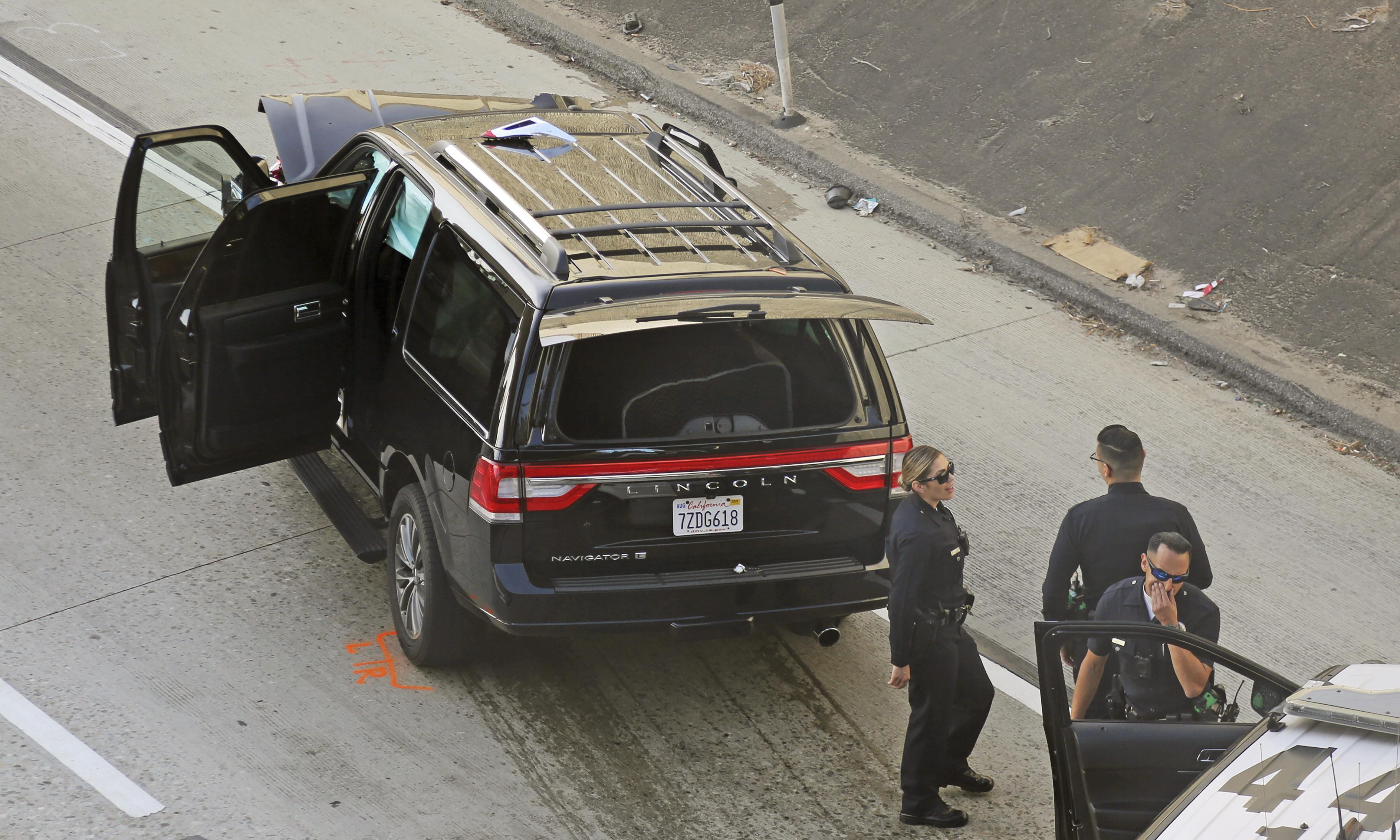 'Bring back the deceased person': police chase down stolen hearse in Los Angeles
