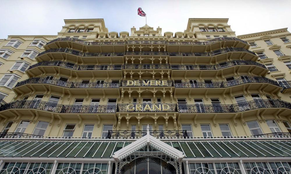 Rooms at the East Sussex seafront hotel will be offered to NHS staff amid the coronavirus outbreak.